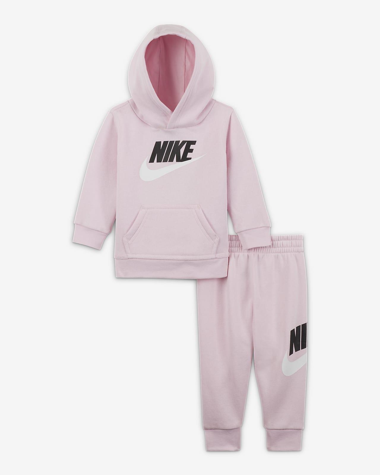 Nike Sportswear Club Fleece Baby (12–24M) Hoodie and Trousers Set