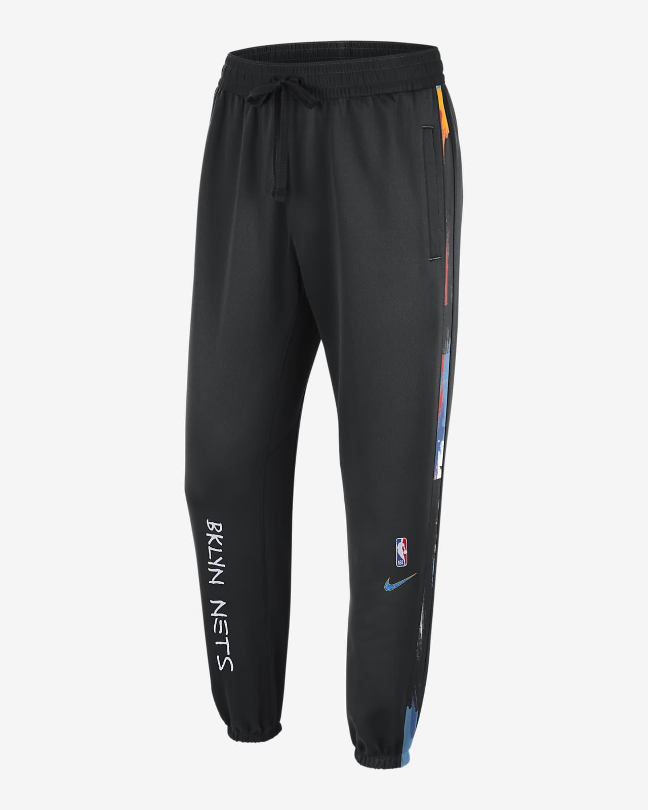 Brooklyn Nets Showtime City Edition Men's Nike Therma Flex NBA Trousers