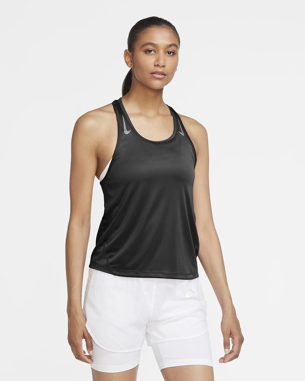 Camiseta sin mangas de running para mujer Nike Miler