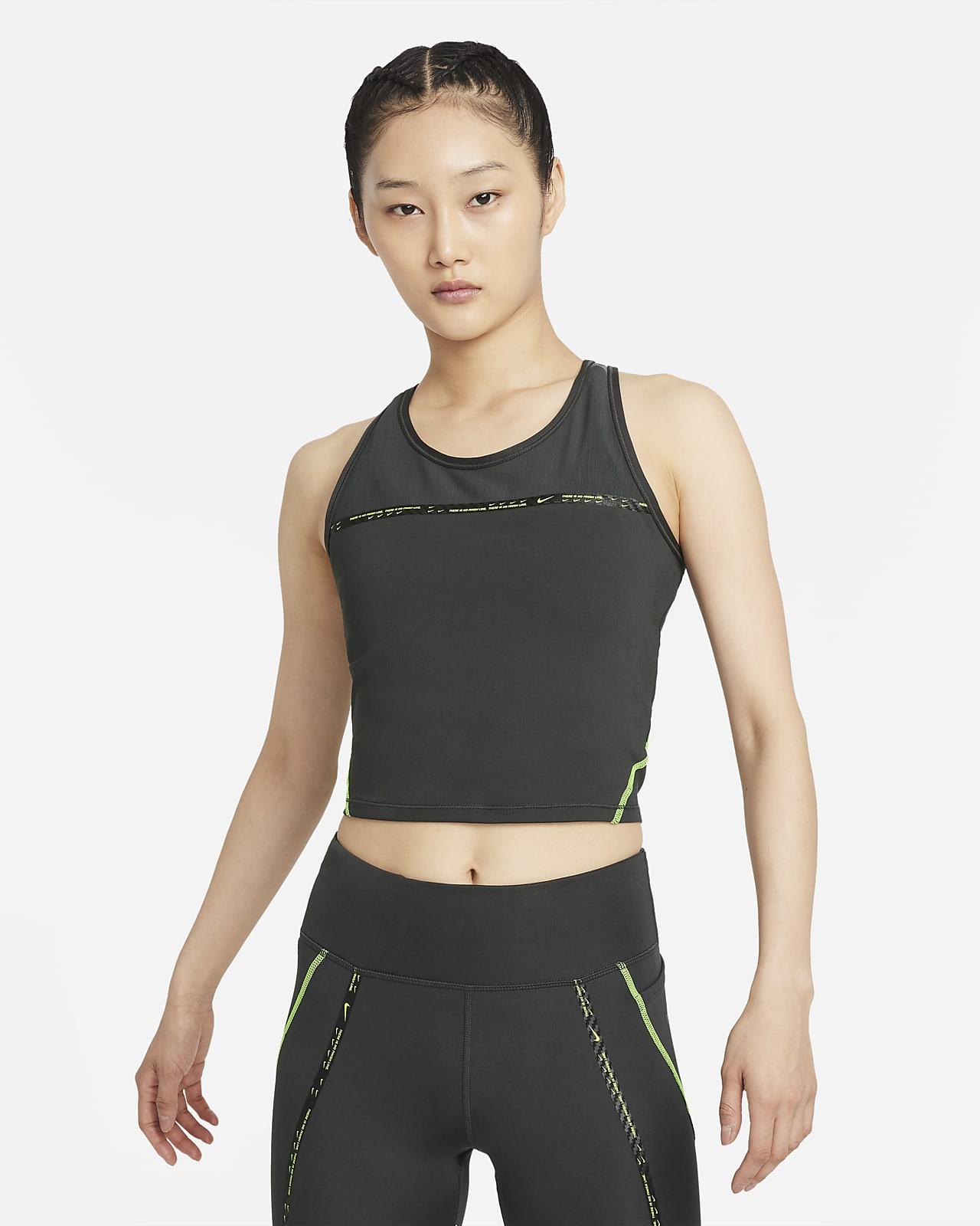เสื้อกล้ามวิ่งผู้หญิง Nike Dri-FIT Taped Pack