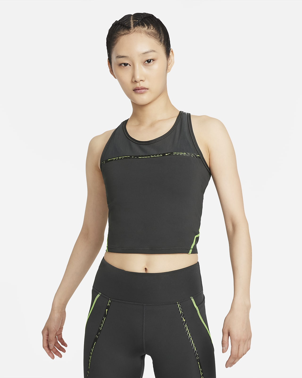 Nike Dri-FIT Taped Pack Women's Running Tank