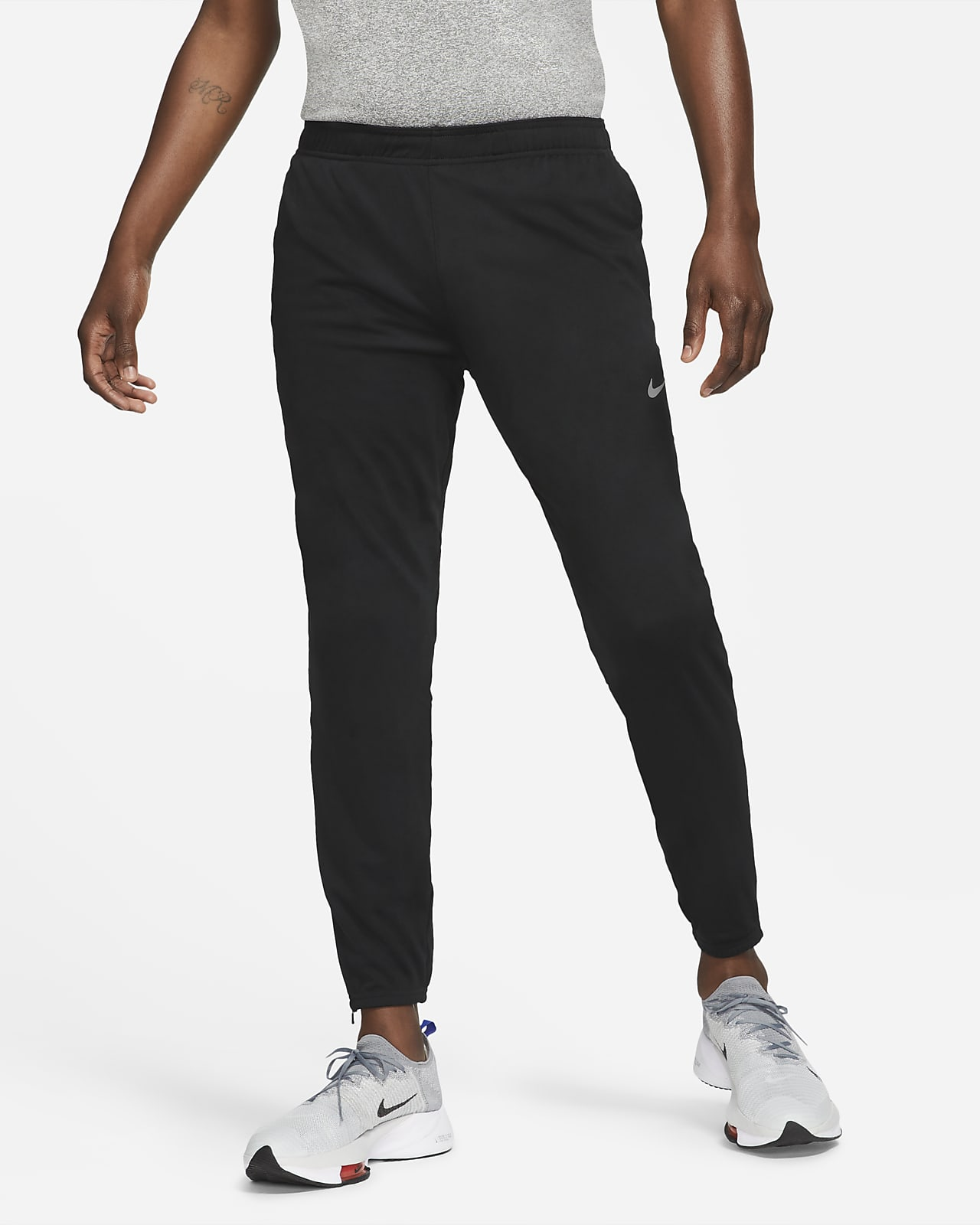 Мужские беговые брюки из трикотажного материала Nike Dri-FIT Challenger