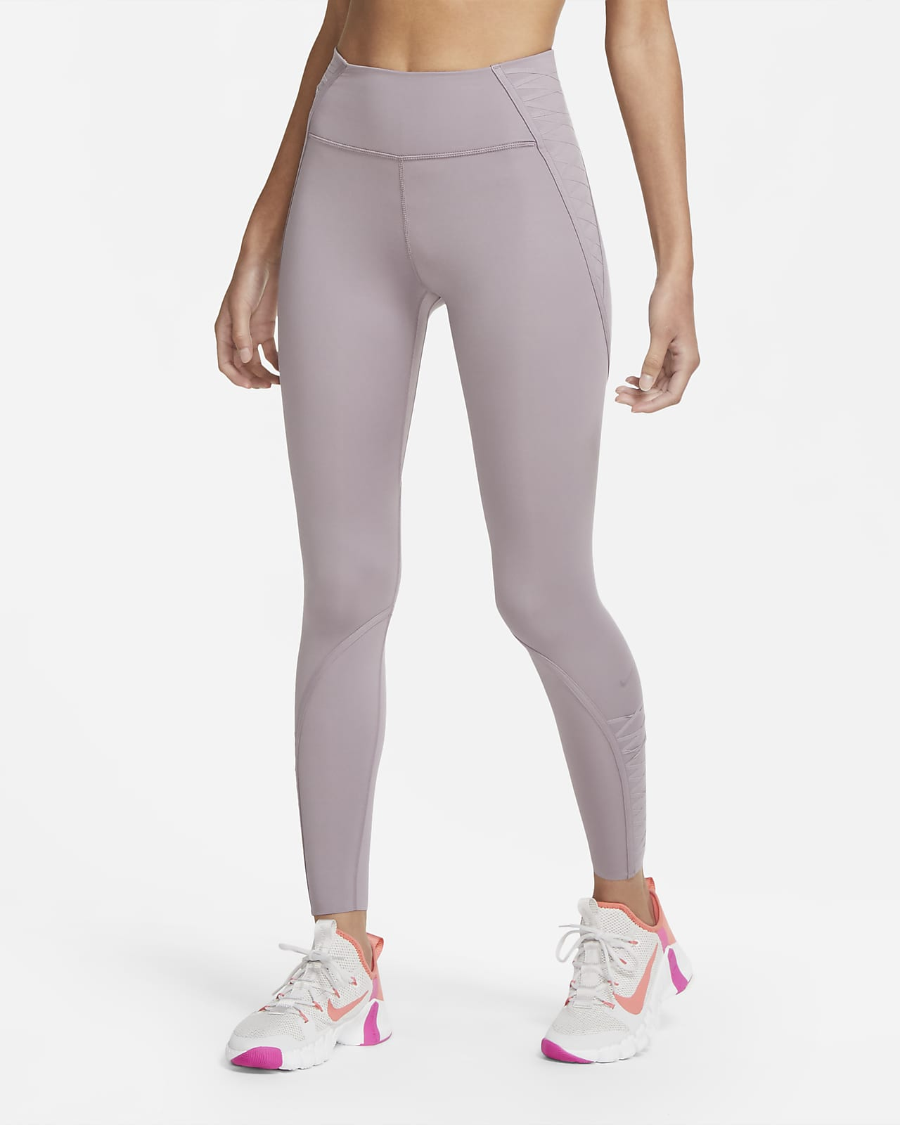 Leggings con cordones 7/8 para mujer Nike One Luxe
