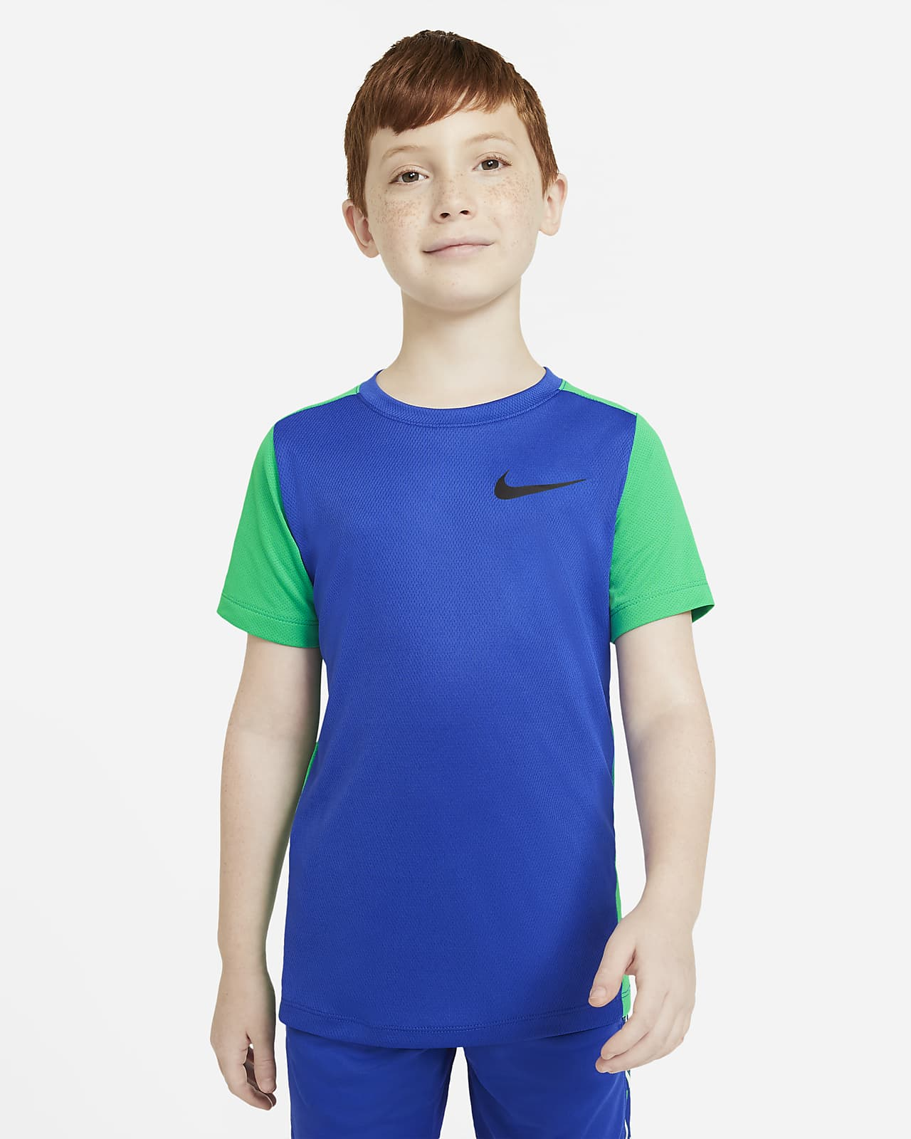 Nike Instacool Older Kids' (Boys') Short-Sleeve Training Top