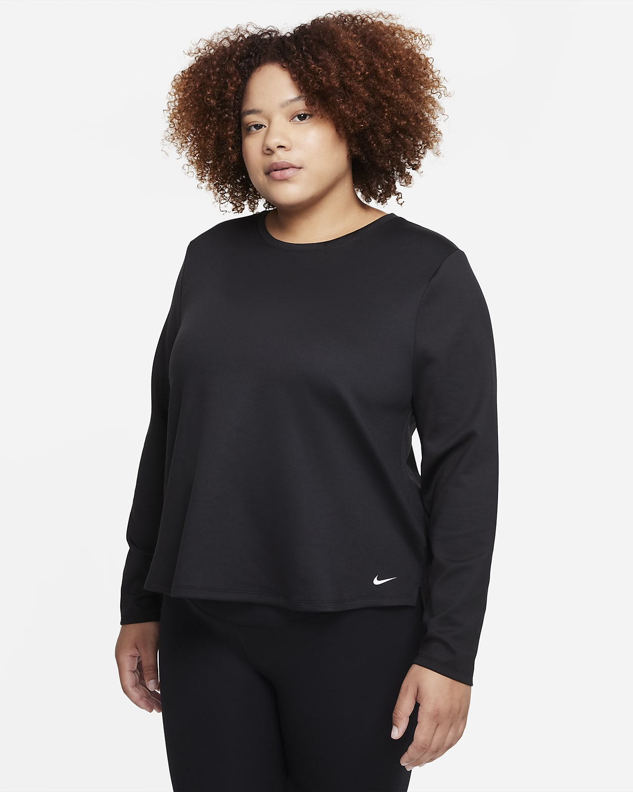 Nike Therma-FIT One Women's Standard Fit Long-Sleeve Top (Plus Size)