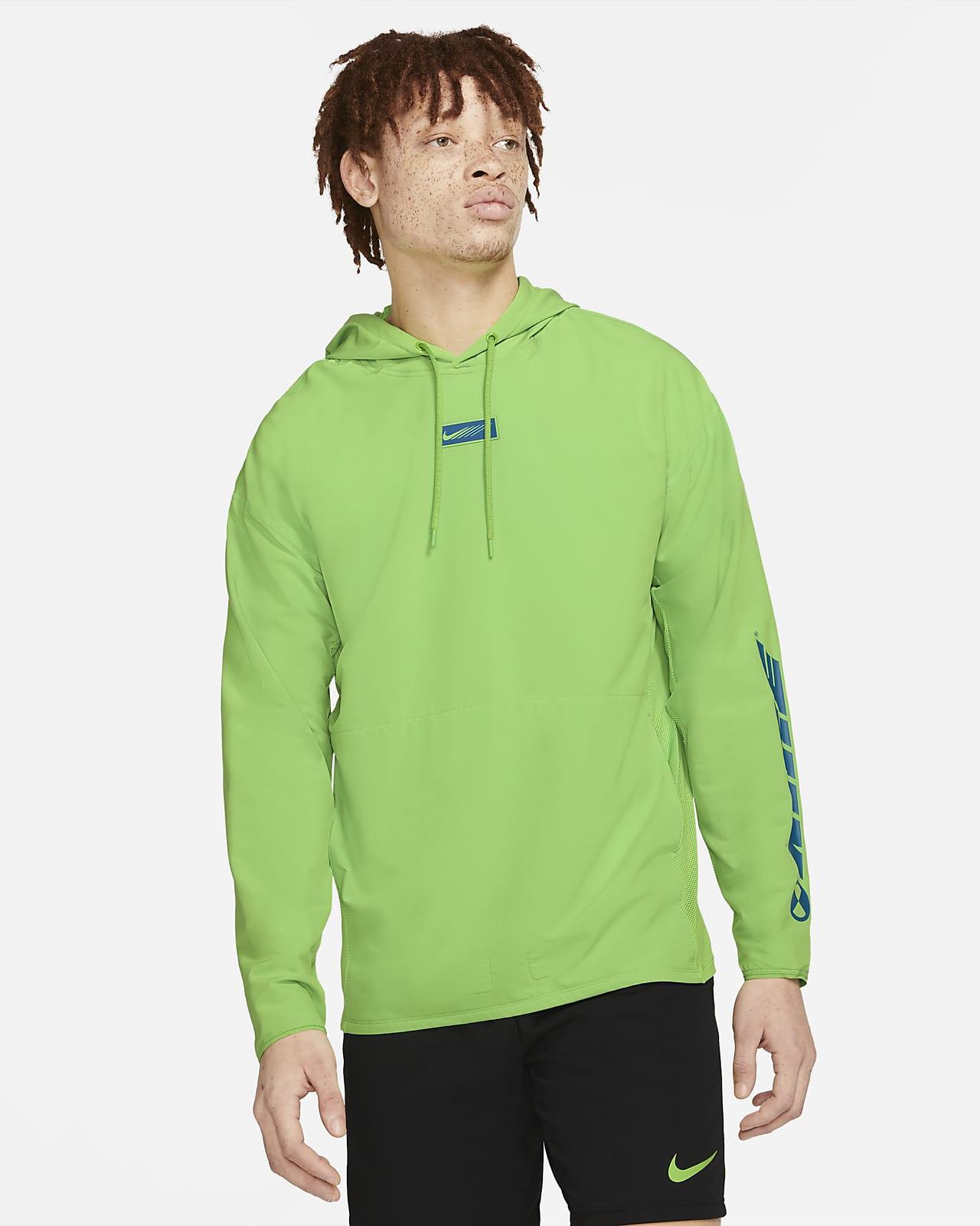 Ανδρική υφαντή μπλούζα προπόνησης με κουκούλα Nike Sport Clash