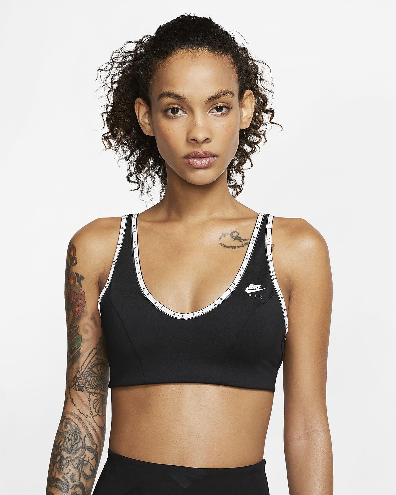 Sutiã de desporto de suporte ligeiro Nike Air Indy para mulher