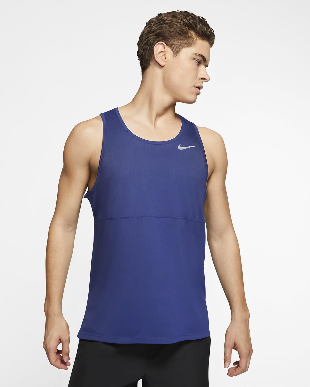 เสื้อกล้ามวิ่งผู้ชาย Nike Breathe