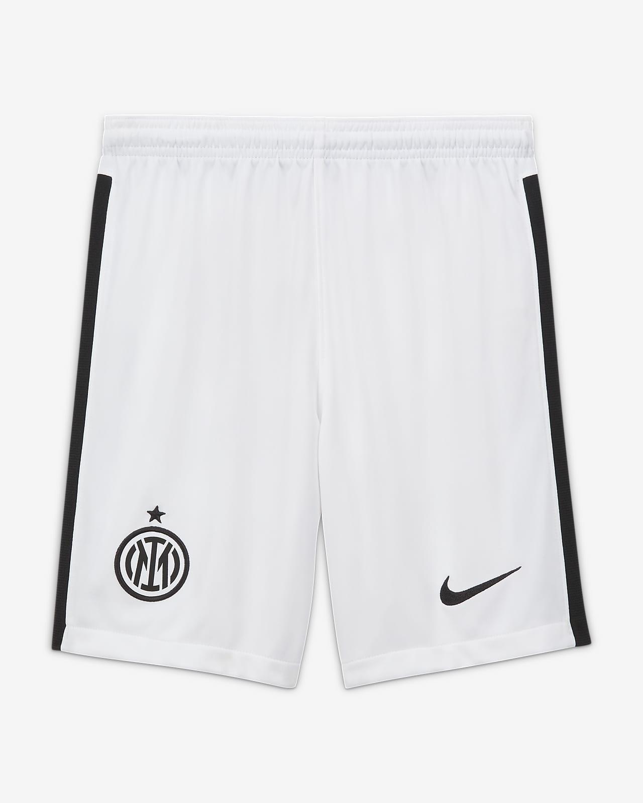 Inter Milan 2021/22 Stadium Home/Away Older Kids' Nike Dri-FIT Football Shorts