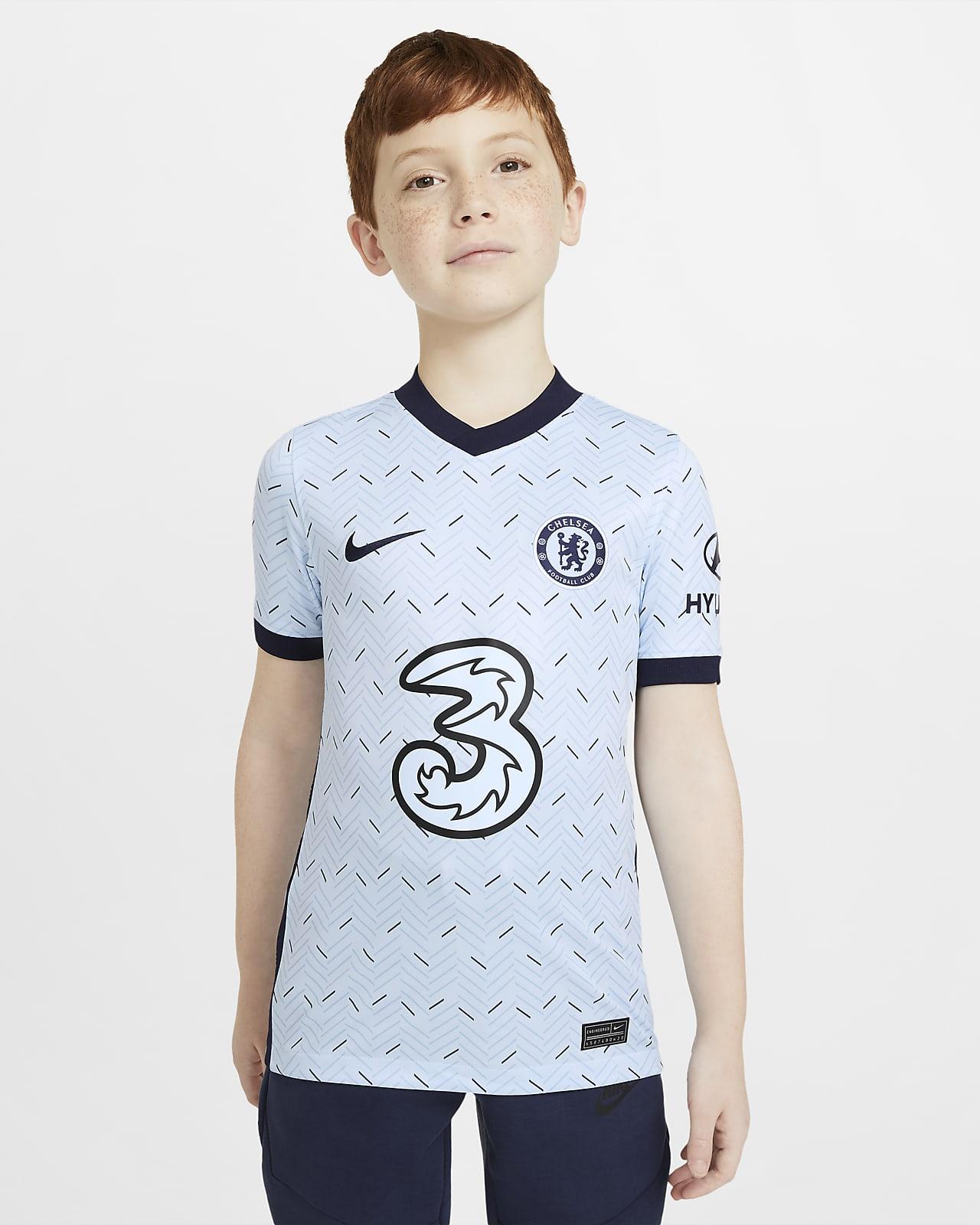 Chelsea F.C. 2020/21 Stadium Away Older Kids' Football Shirt