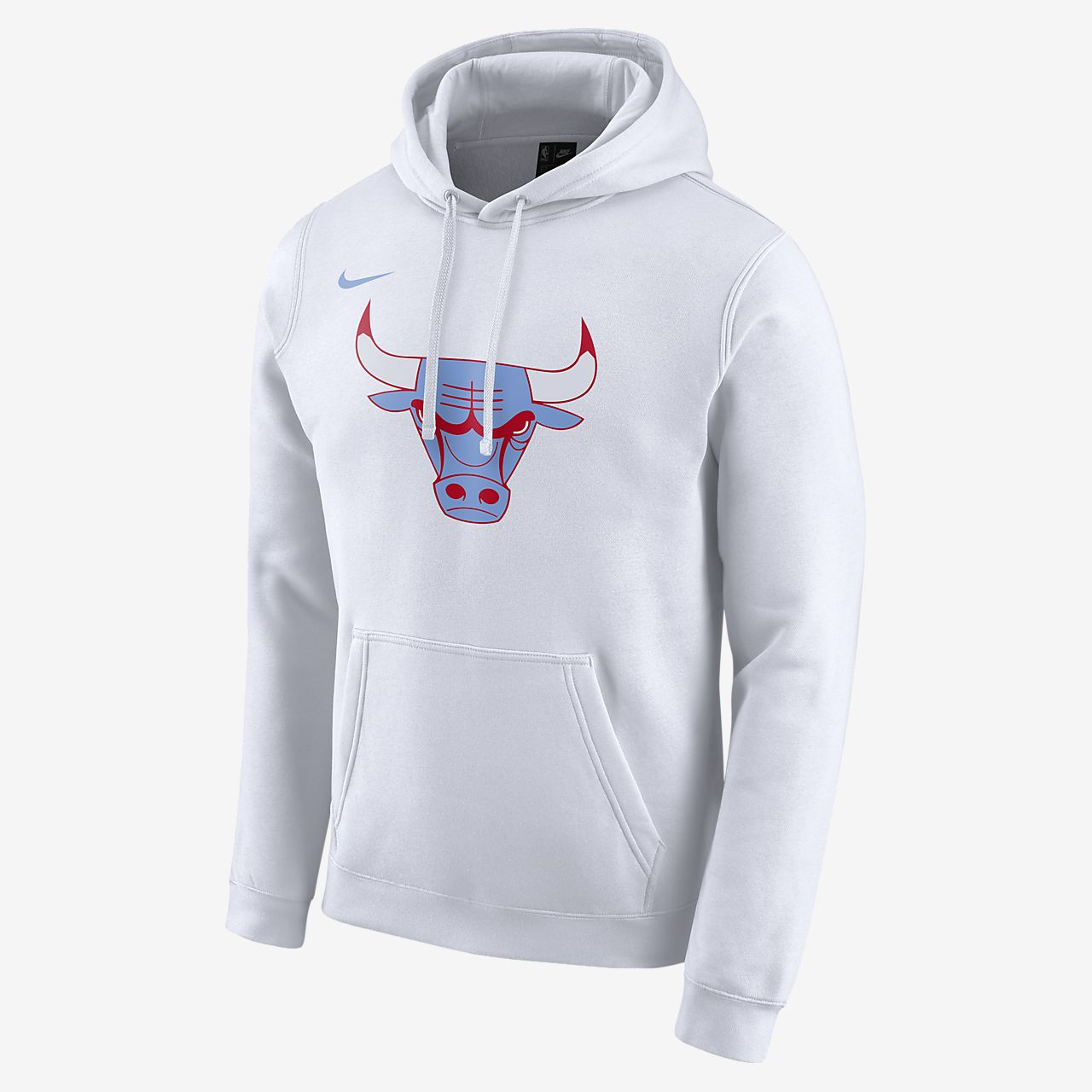 芝加哥公牛队 City Edition Logo Nike NBA 男子连帽衫