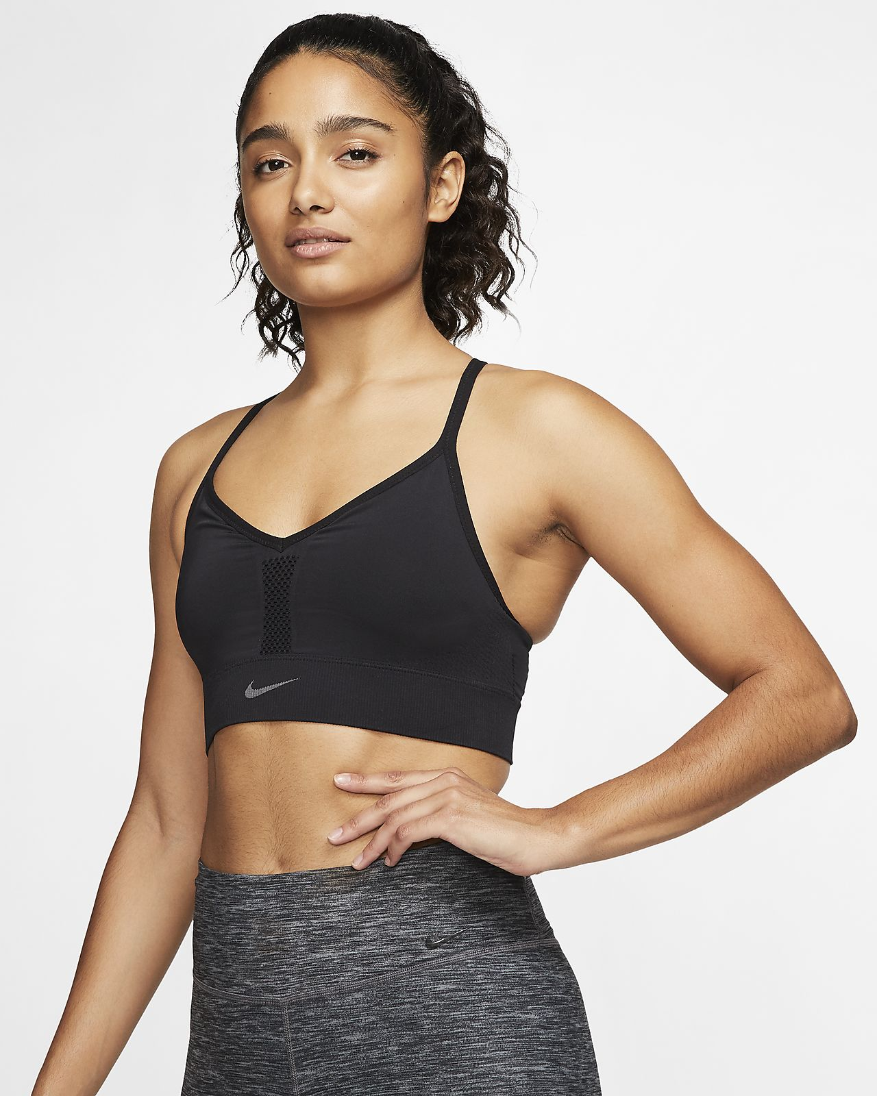 nike performance indy bra