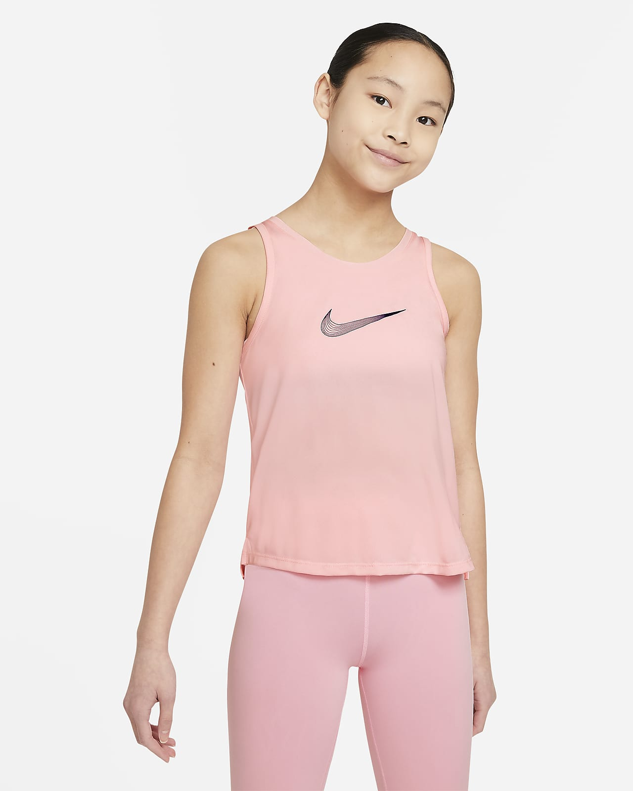 Nike Dri-FIT Trophy Big Kids' (Girls') Training Tank