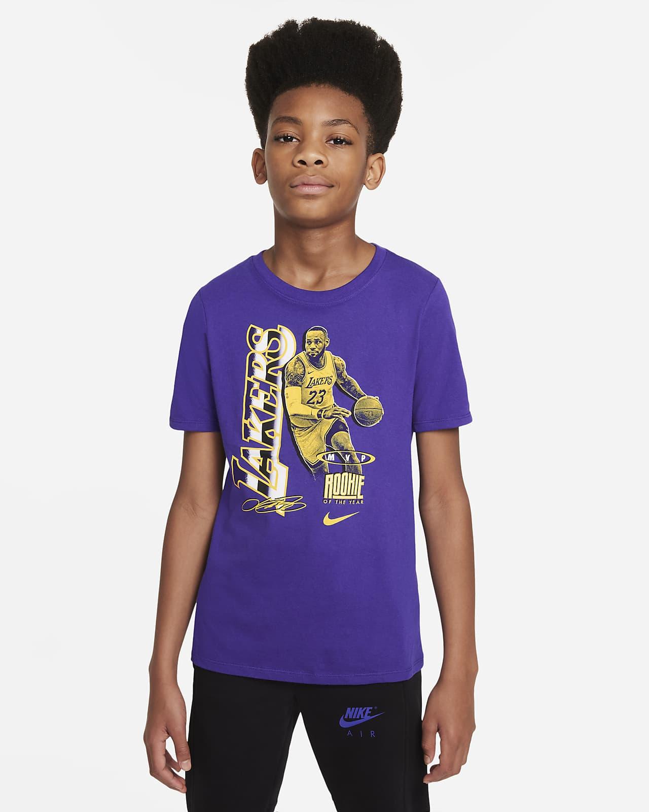 LeBron James Select Series Older Kids' Nike NBA T-Shirt