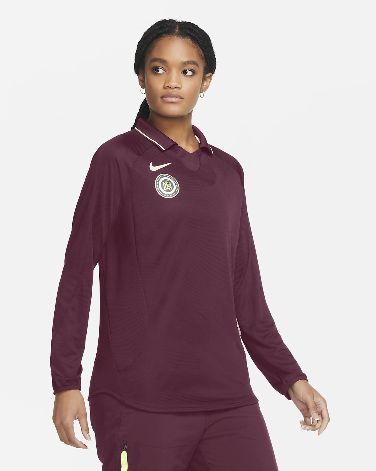 Långärmad fotbollströja Nike F.C. för kvinnor
