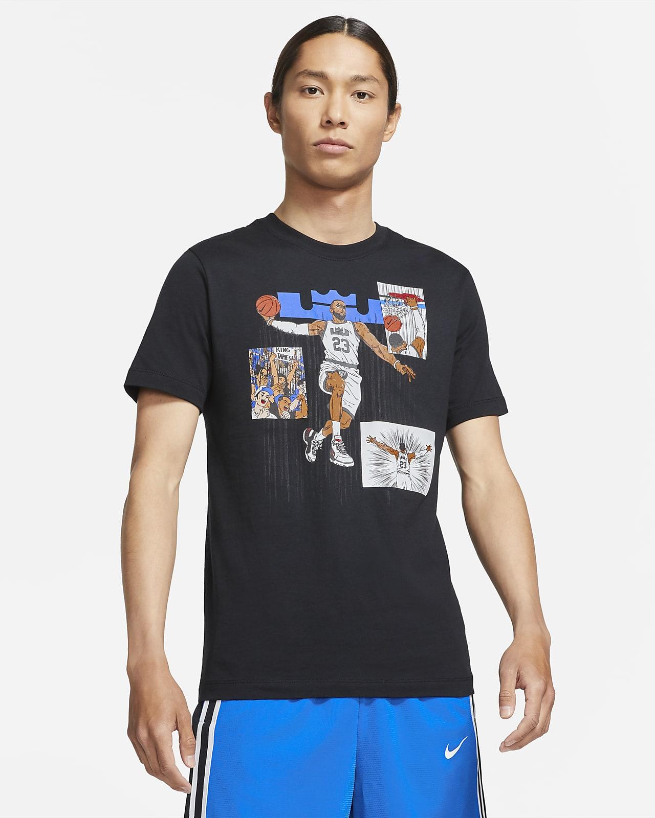 LeBron Logo Men's Basketball T-Shirt