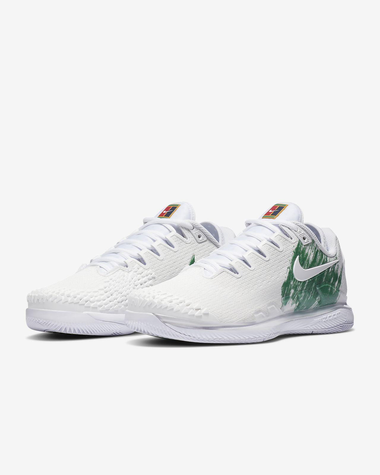 Scarpa da tennis per campi in cemento NikeCourt Air Zoom Vapor X Knit Donna