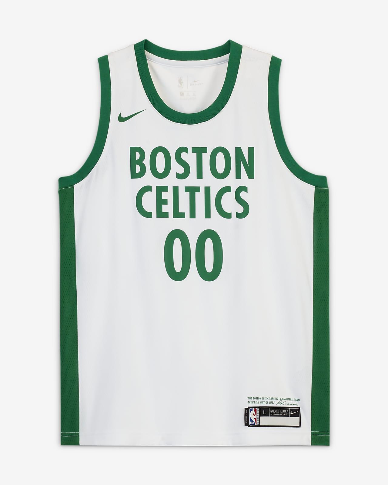 Maillot Nike NBA Swingman Jayson Tatum Celtics City Edition pour Enfant plus âgé