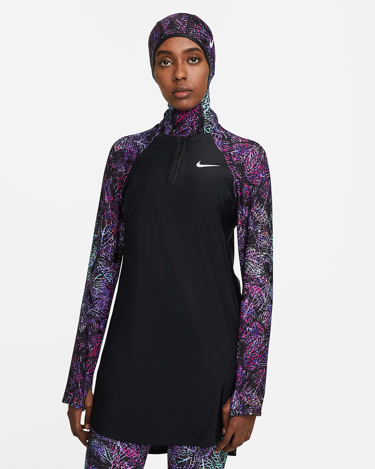 Tunique de bain intégrale Nike Victory pour Femme