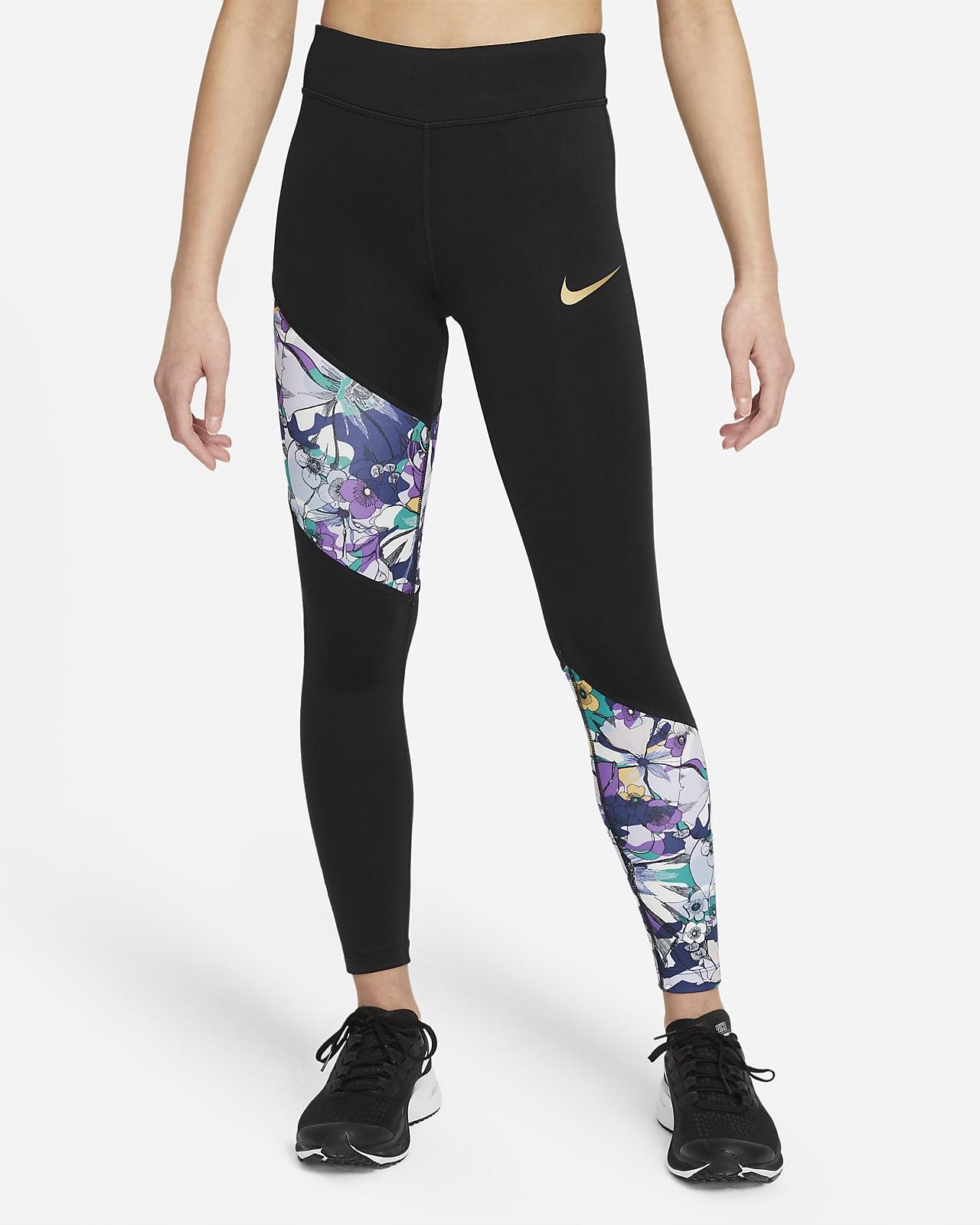 Леггинсы для девочек школьного возраста Nike Dri-FIT One
