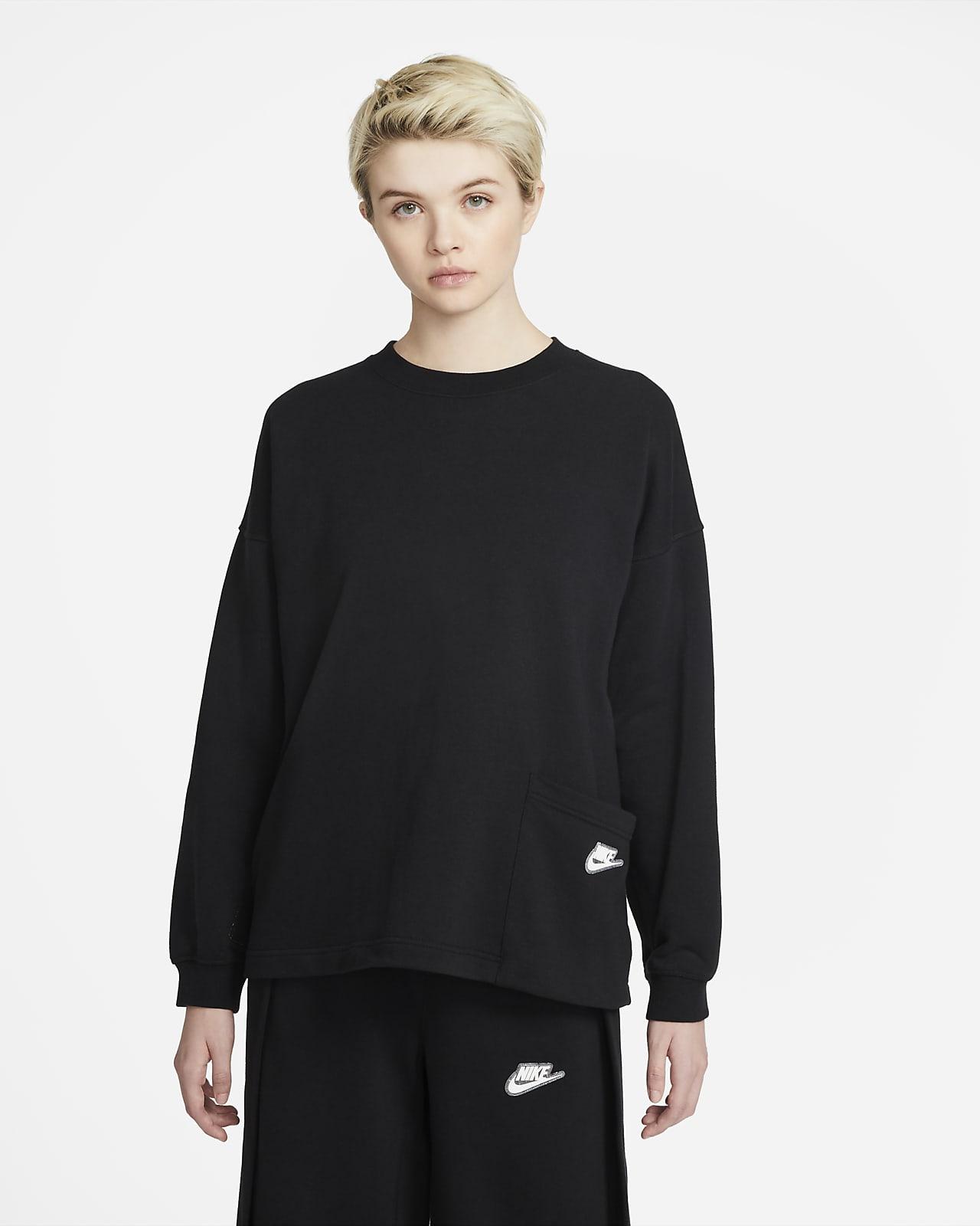Nike Sportswear kerek nyakkivágású női pulóver