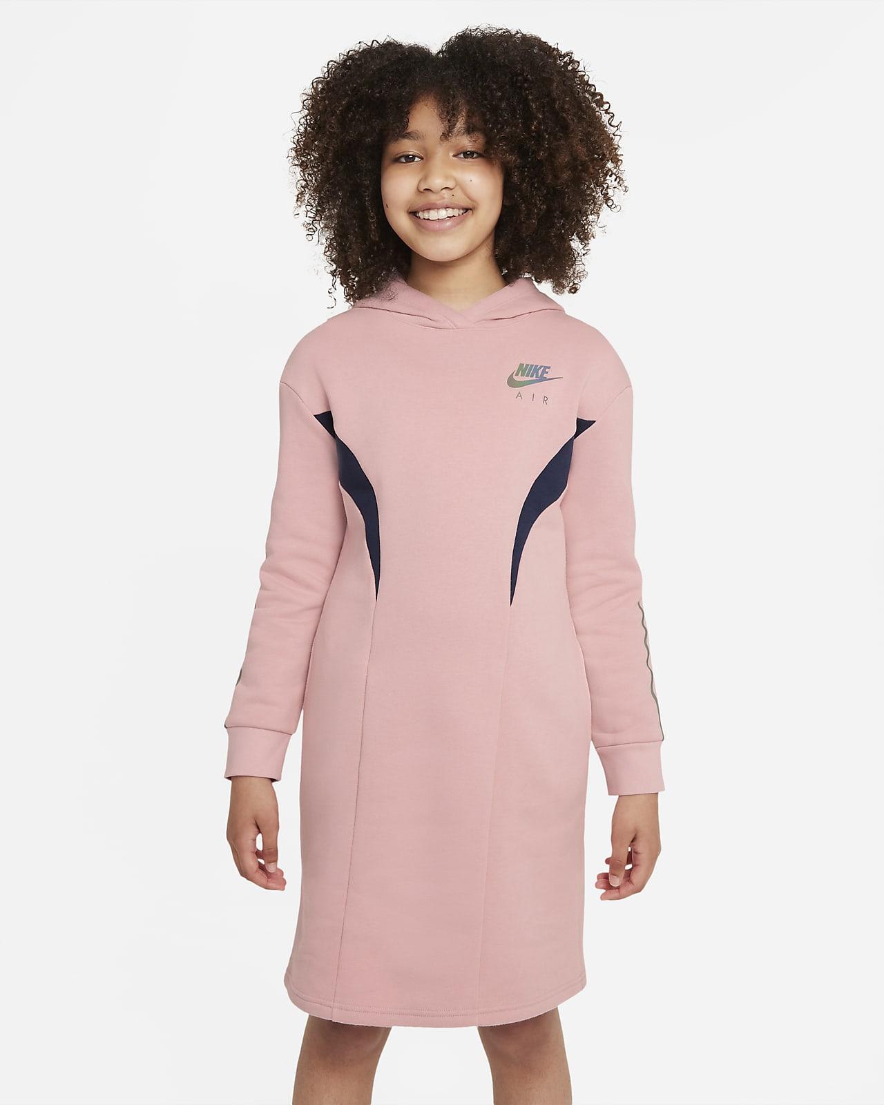 Φλις φόρεμα Nike Air για μεγάλα κορίτσια