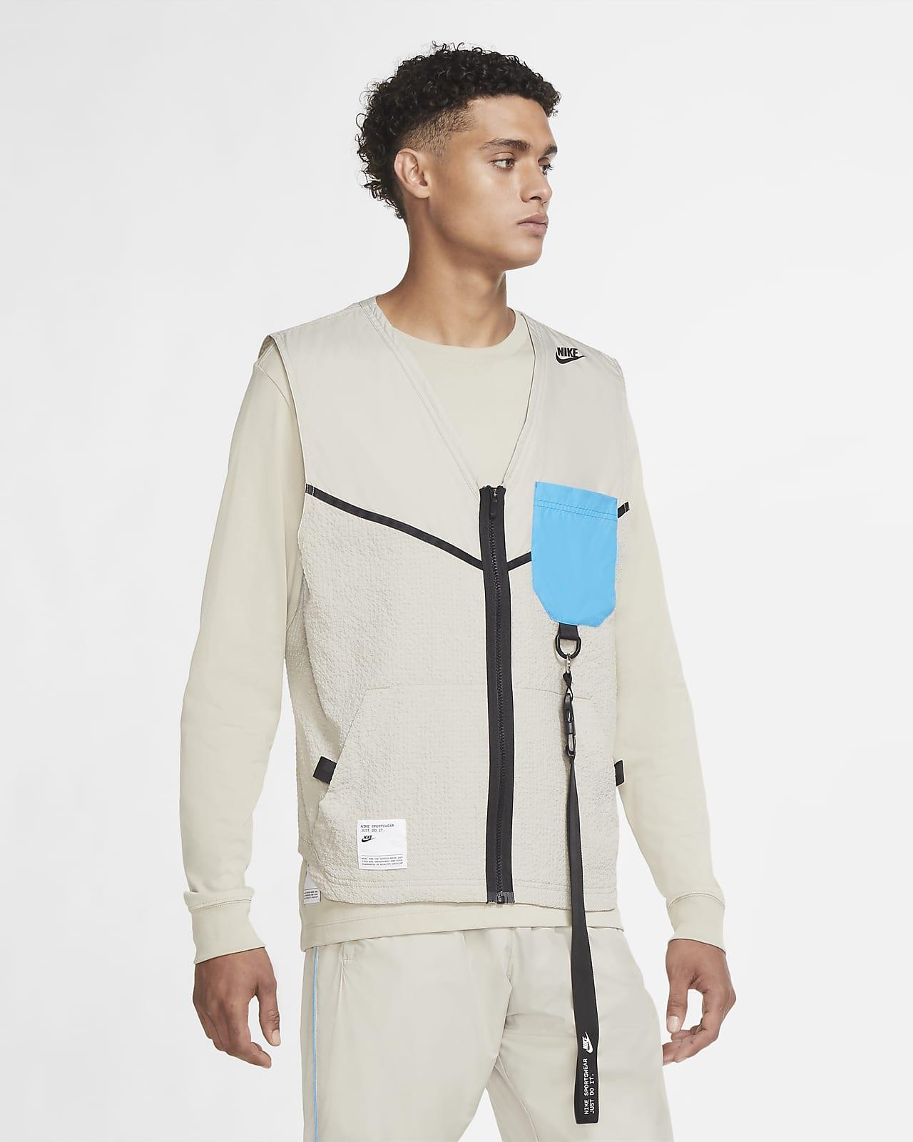 Chaleco de tejido Woven para hombre Nike Sportswear
