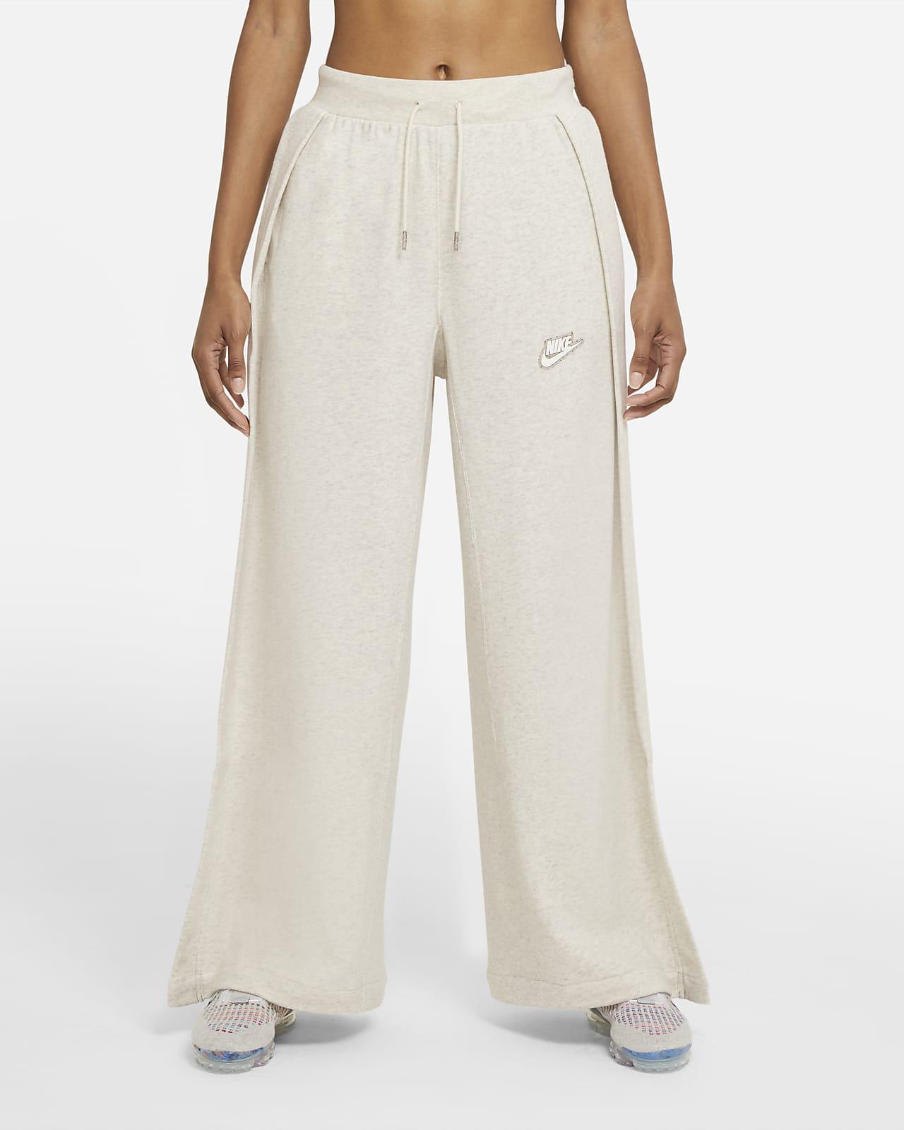 Calças em tecido moletão Nike Sportswear para mulher
