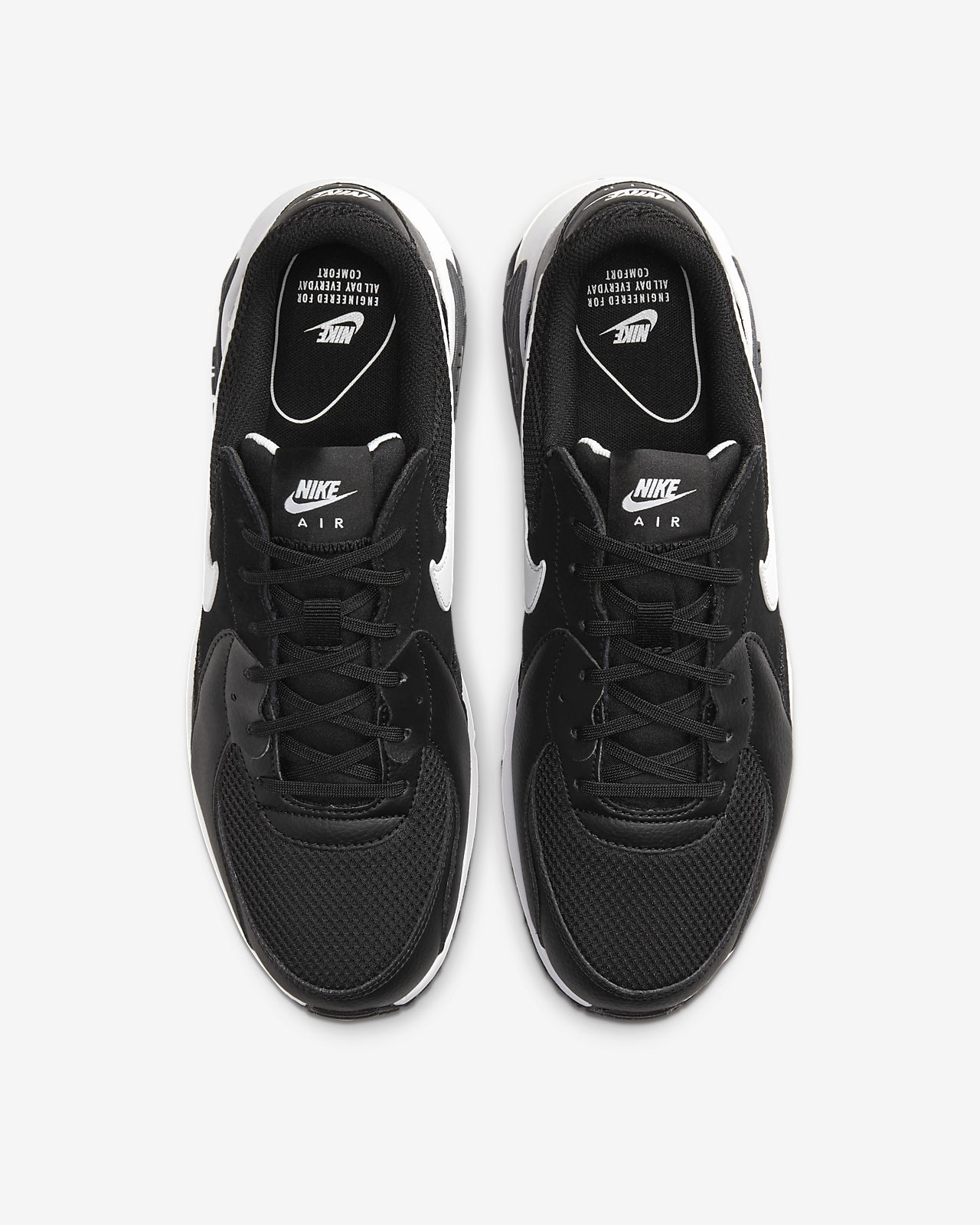 Nike Air Max Excee Black White CD4165 001 Running Shoes On Sale