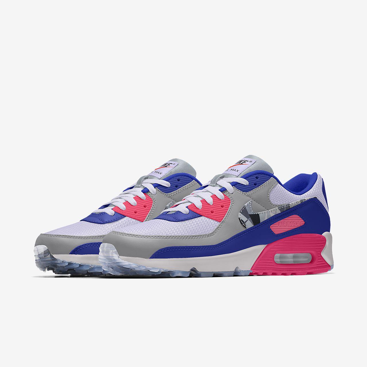 Nike Air Max 90 Premium By You Custom Lifestyle Shoe