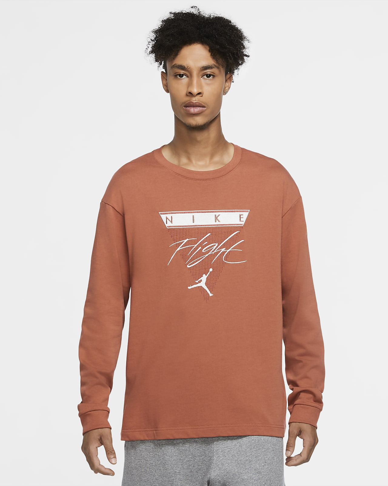 Jordan Flight Langarm-T-Shirt für Herren