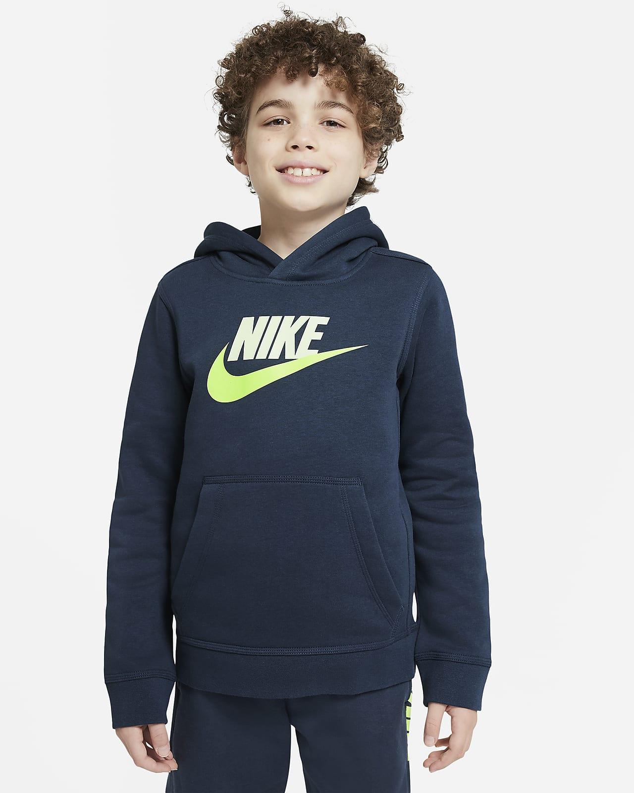 Nike Sportswear Club Fleece Older Kids' Pullover Hoodie