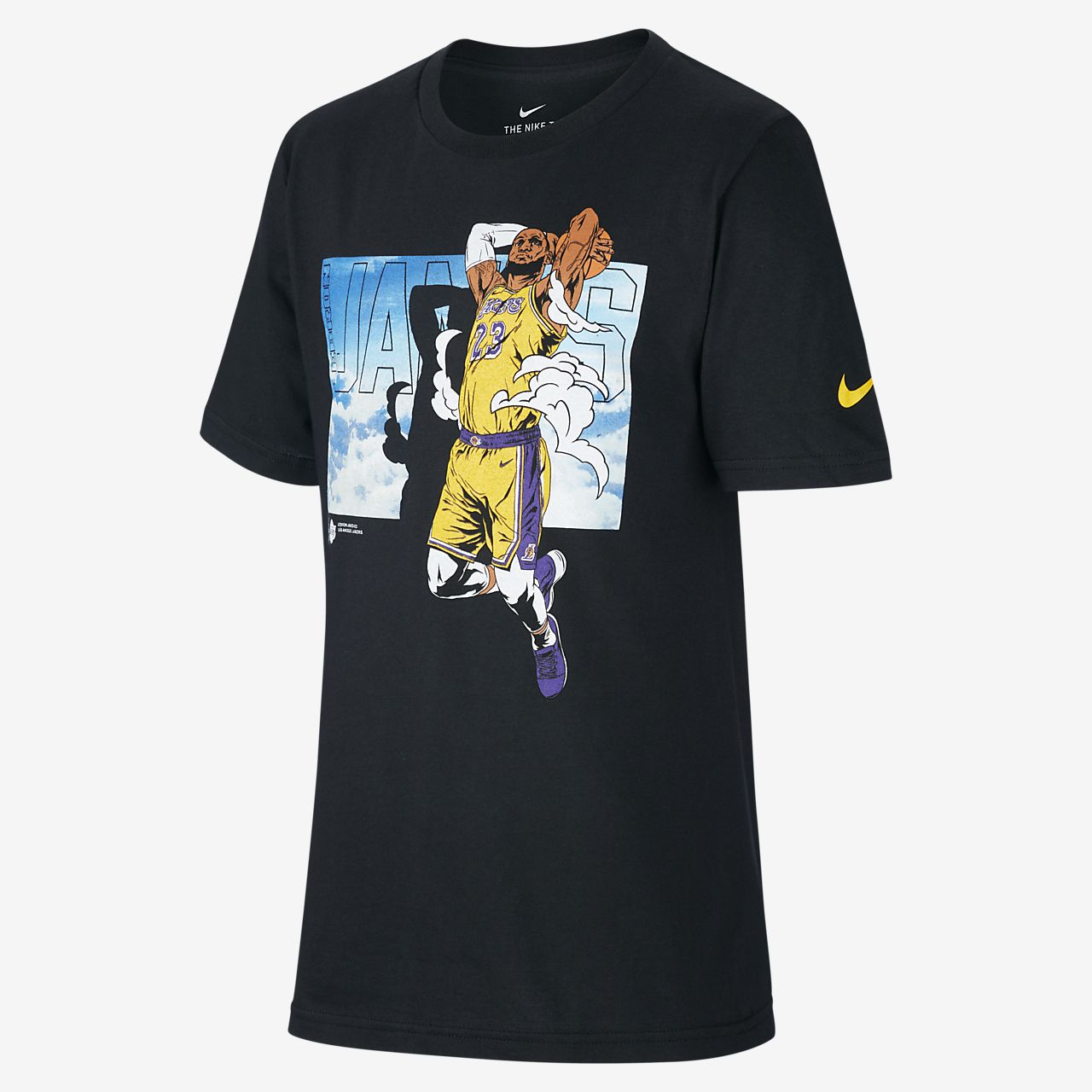 LeBron James Lakers Older Kids' Nike NBA T-Shirt