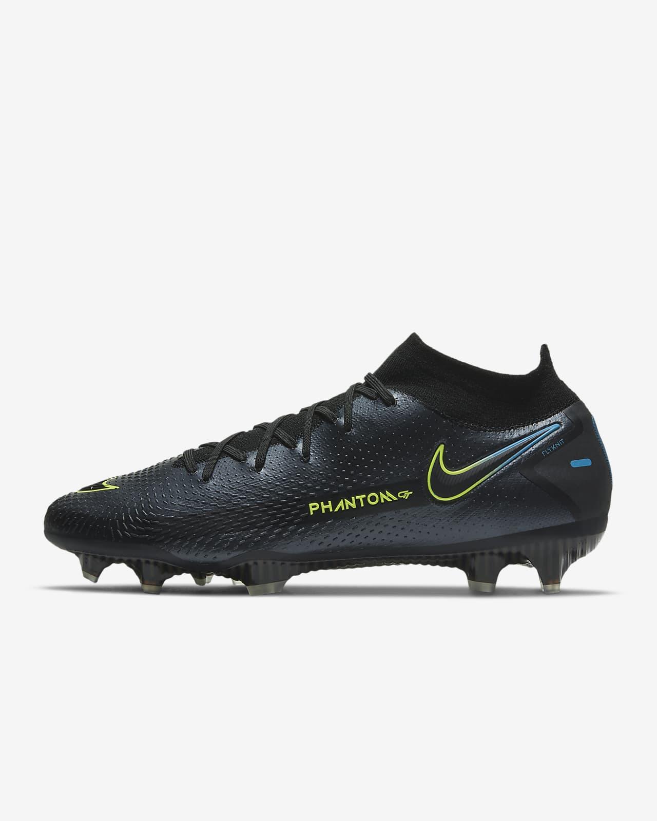 Chaussure de football à crampons pour terrain sec Nike Phantom GT Elite Dynamic Fit FG