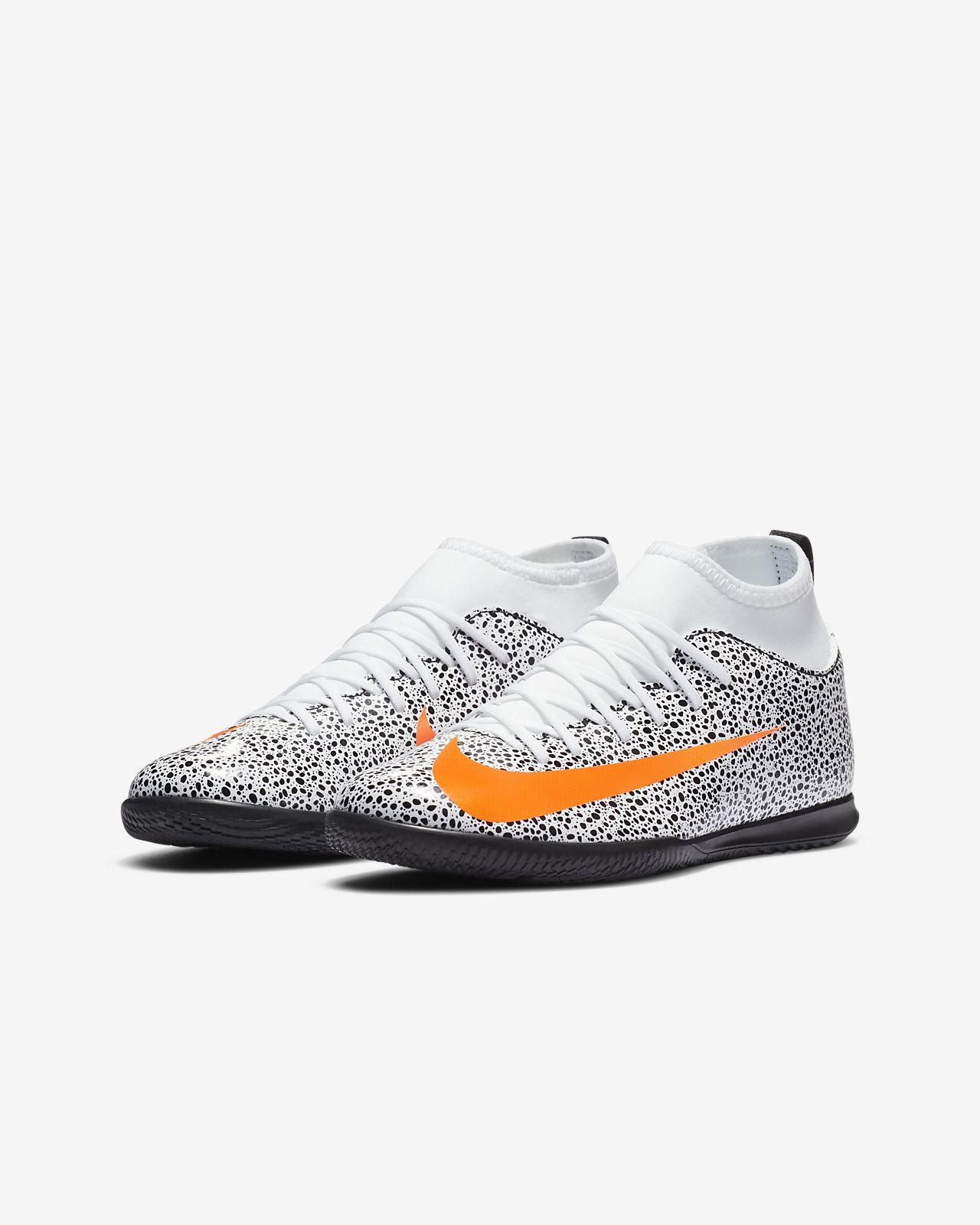 Chaussure de football en salle Nike Jr. Mercurial Superfly 7 Club CR7 Safari IC pour Jeune enfantEnfant plus âgé