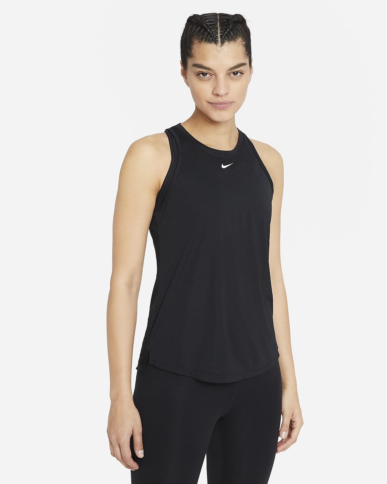 เสื้อกล้ามทรงมาตรฐานผู้หญิง Nike Dri-FIT One