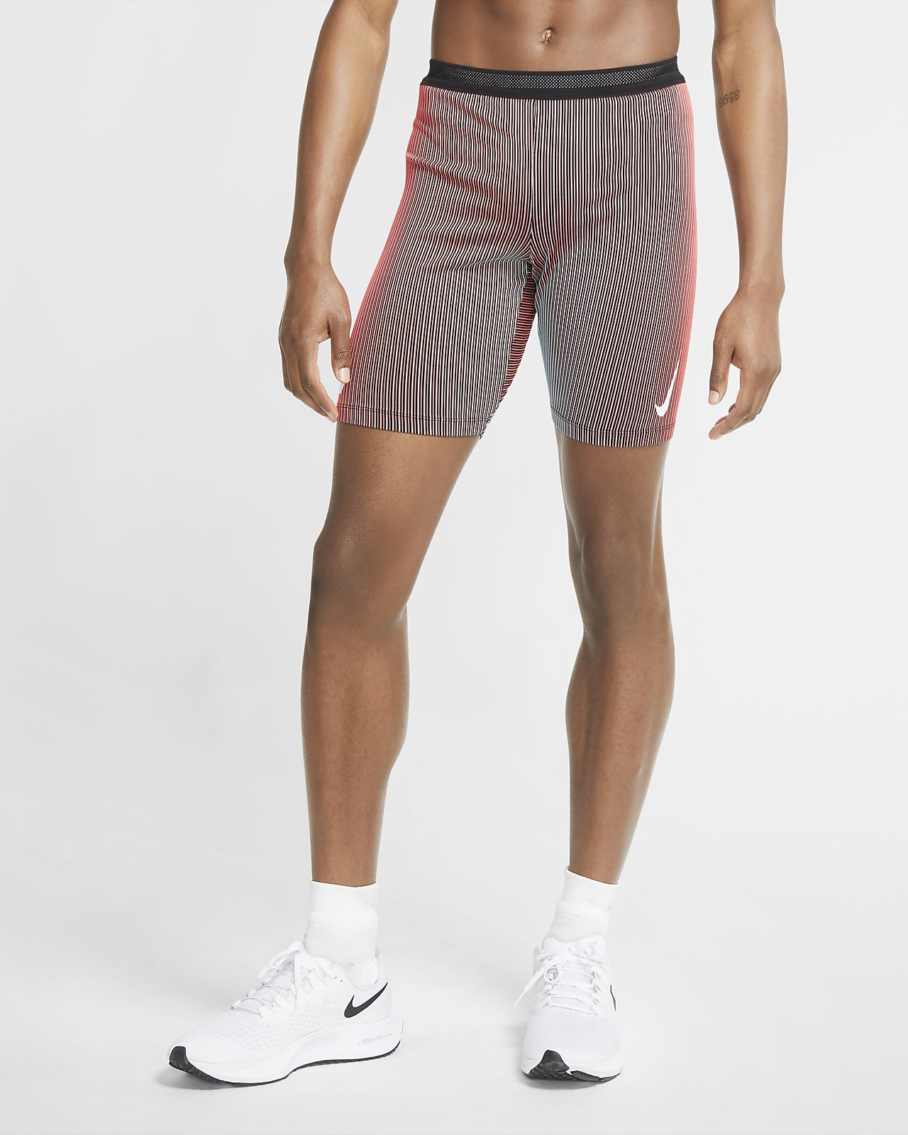 Tights da running a metà lunghezza Nike AeroSwift - Uomo