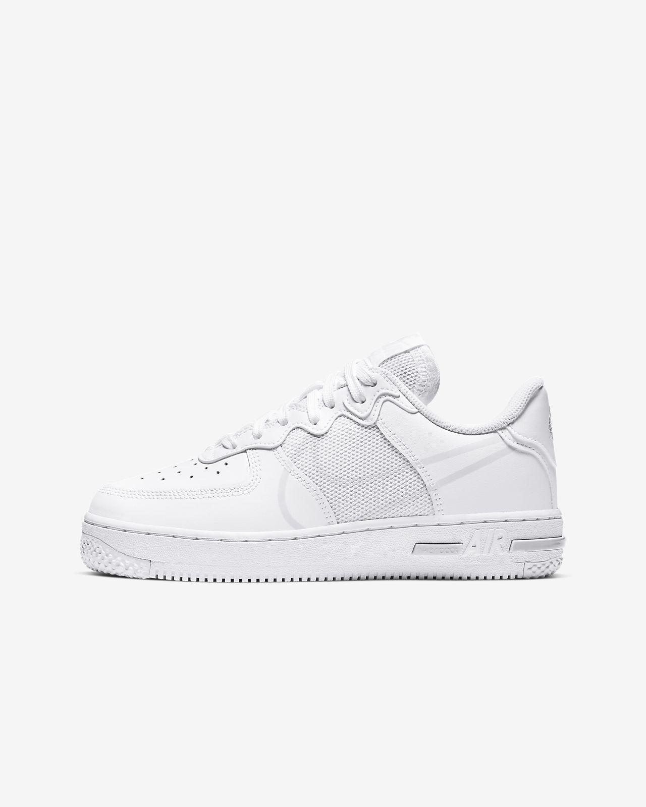 รองเท้าเด็กโต Nike Air Force 1 React