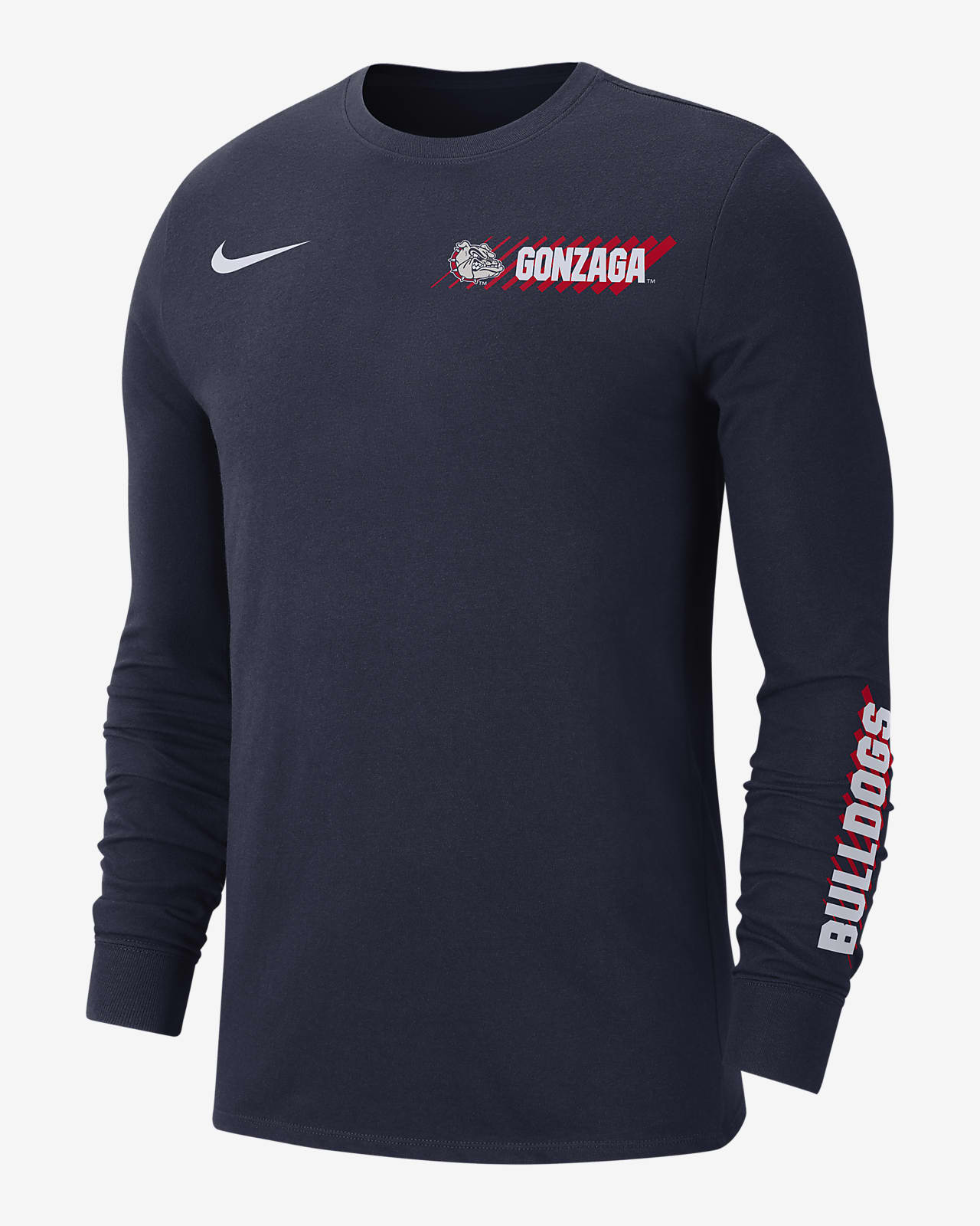 Nike College Dri-FIT (Gonzaga) Men's Long-Sleeve T-Shirt