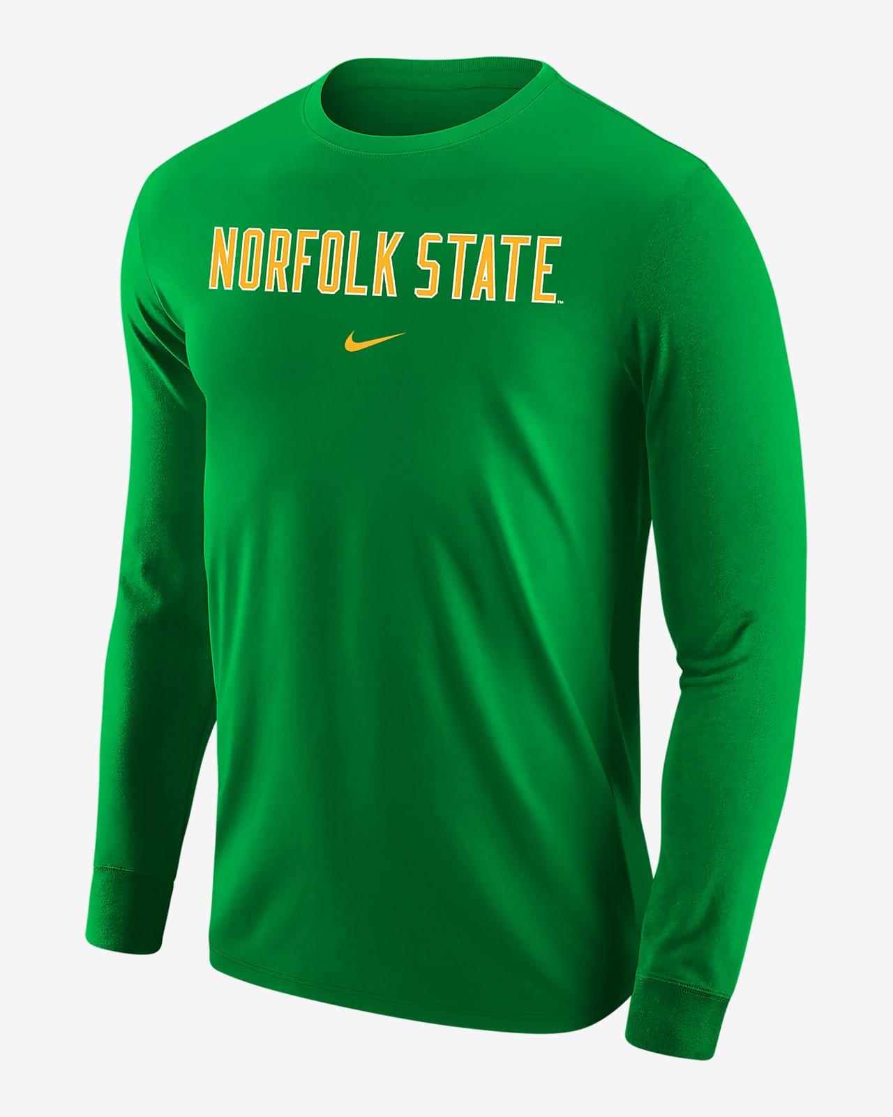 Nike College (Norfolk State) Men's Long-Sleeve T-Shirt