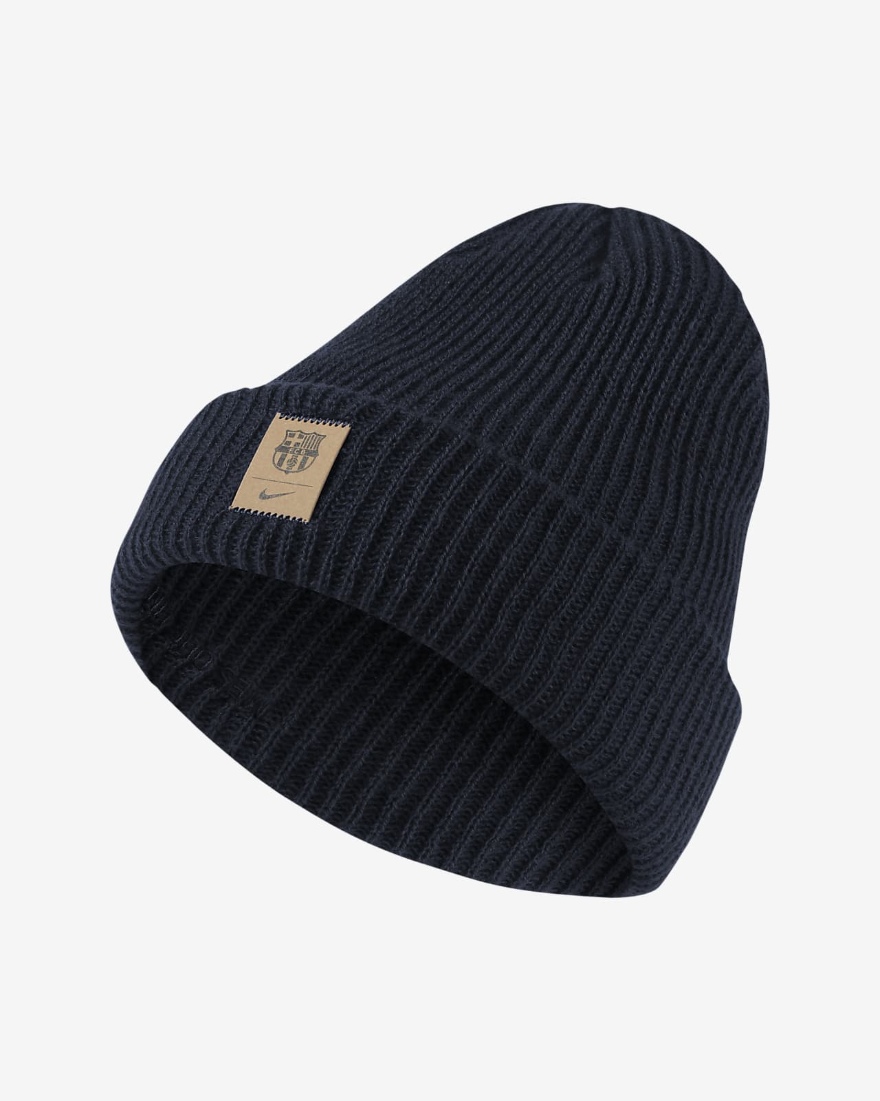F.C. Barcelona Cuffed Fisherman Beanie