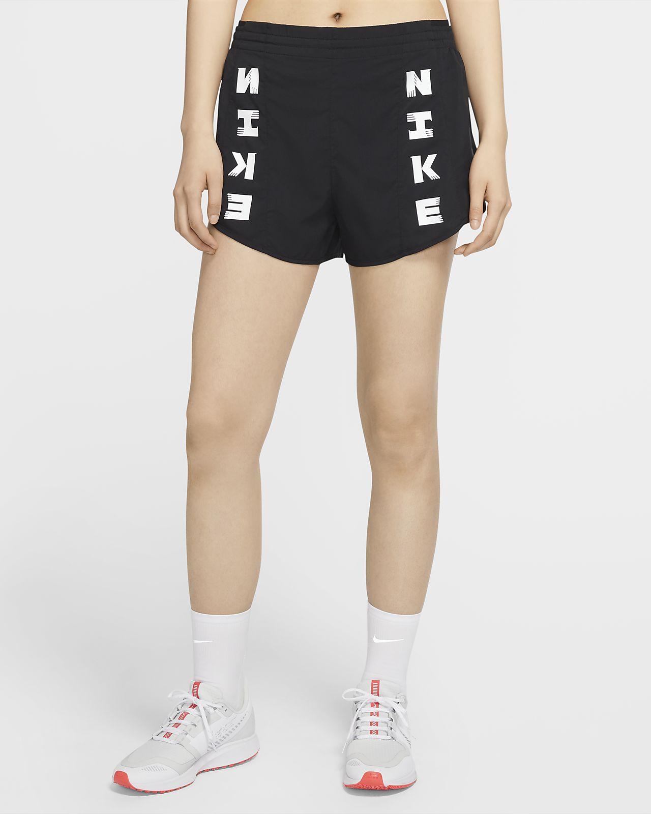 กางเกงวิ่งขาสั้นผู้หญิง Nike Icon Clash Tempo Luxe