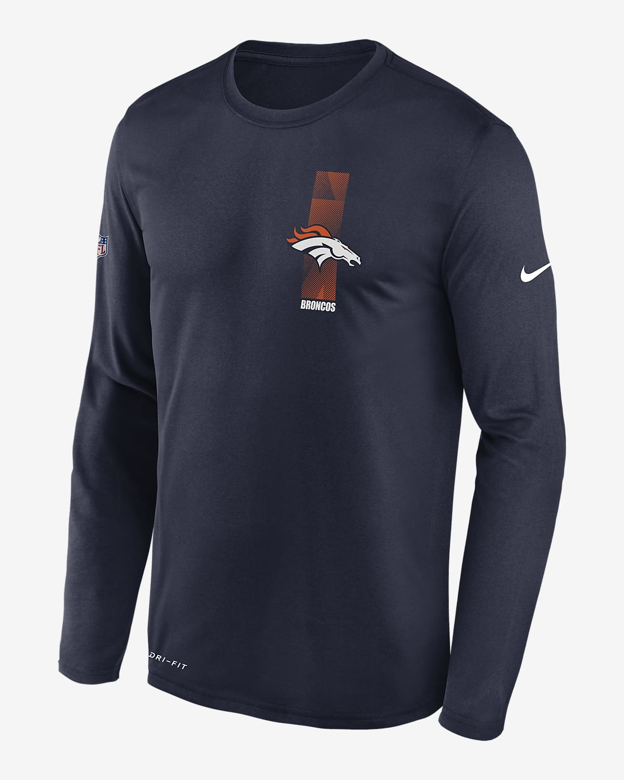 Nike Legend (NFL Broncos) Men's Long-Sleeve T-Shirt