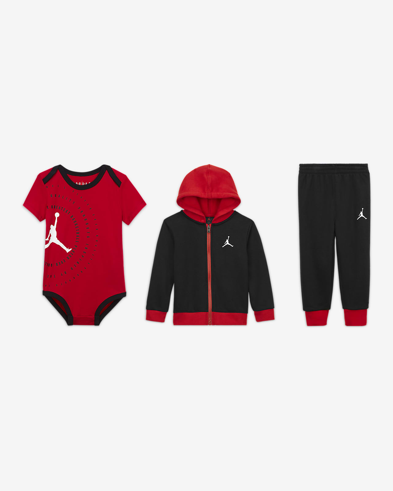 Jordan 3-teiliges Set für Babys (12–24 M)