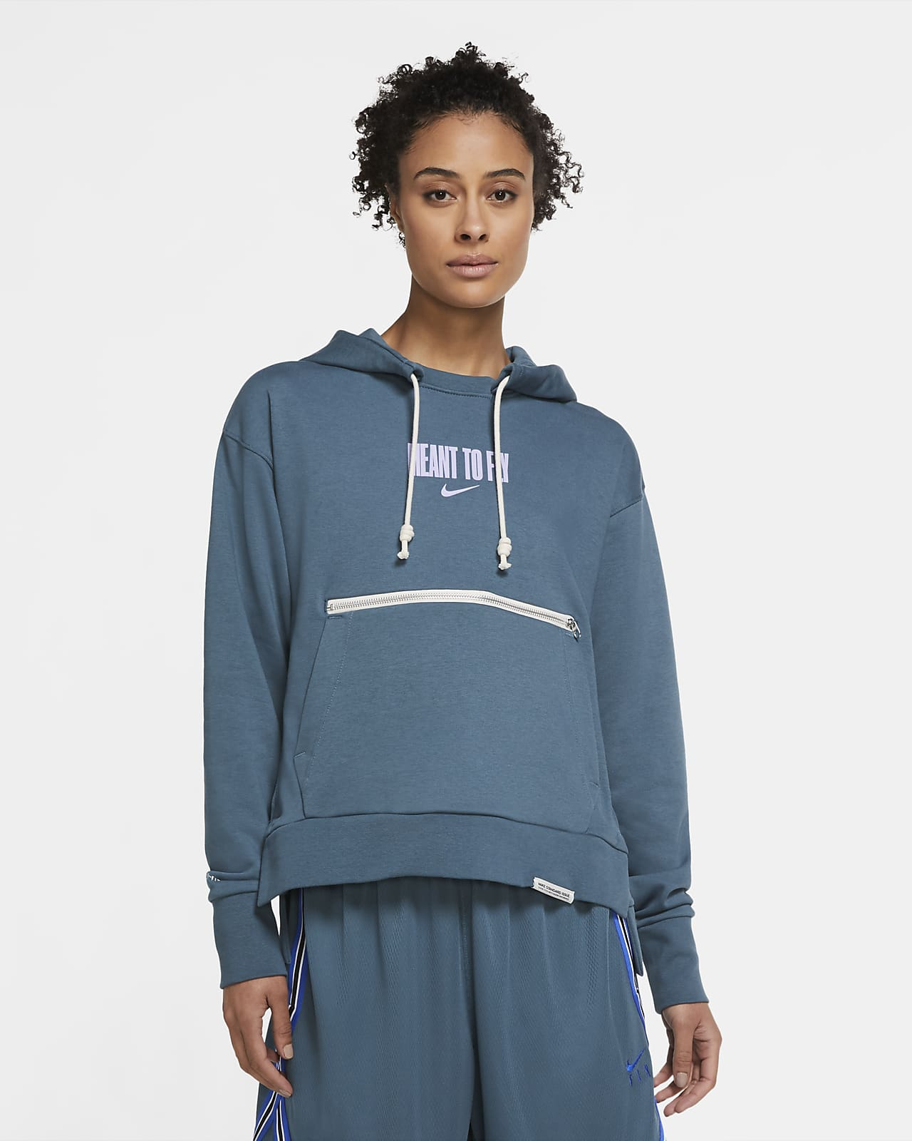 Nike Standard Issue Women's Graphic Basketball Hoodie