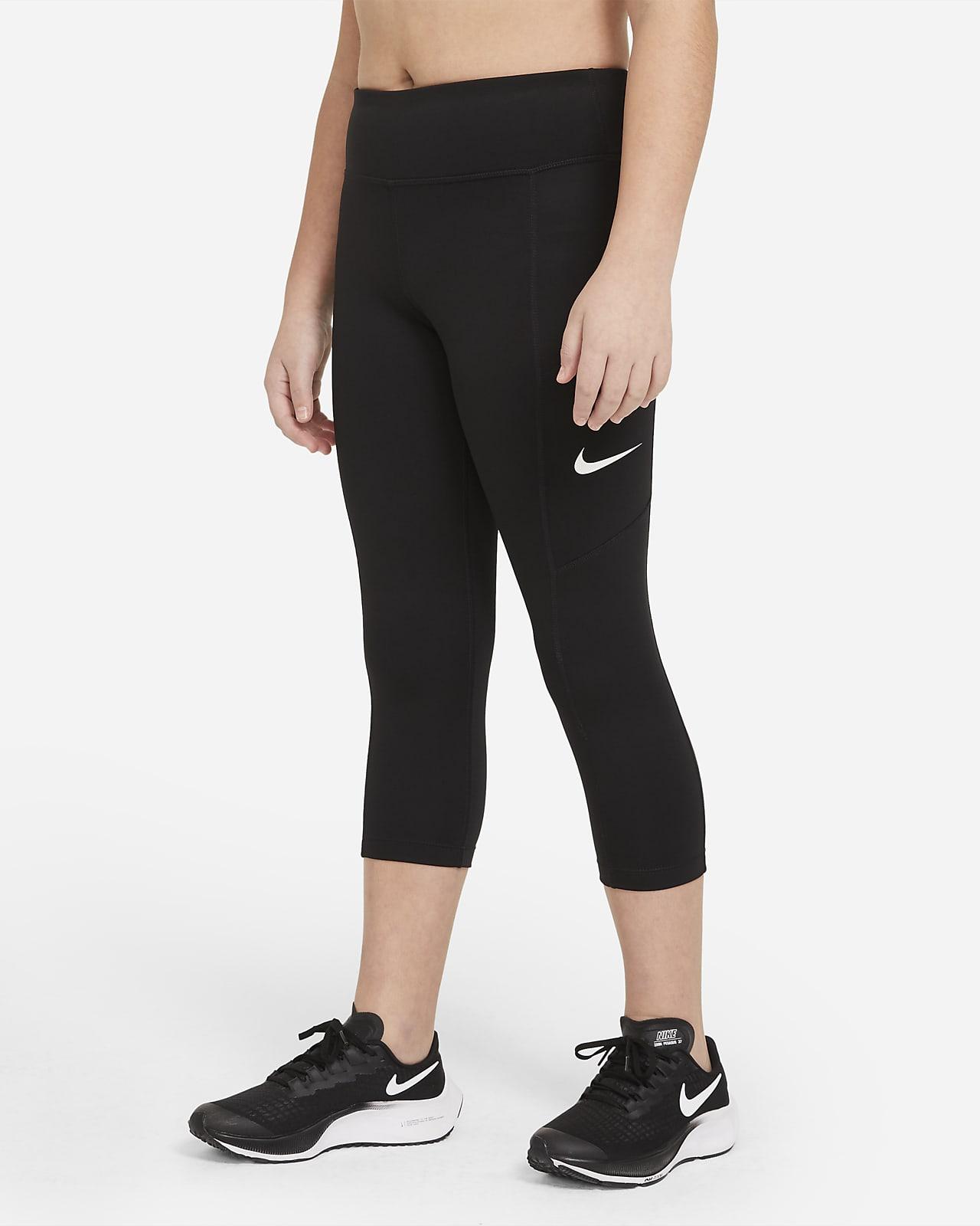 Capris de entrenamiento para niñas talla grande Nike Trophy (talla extendida)