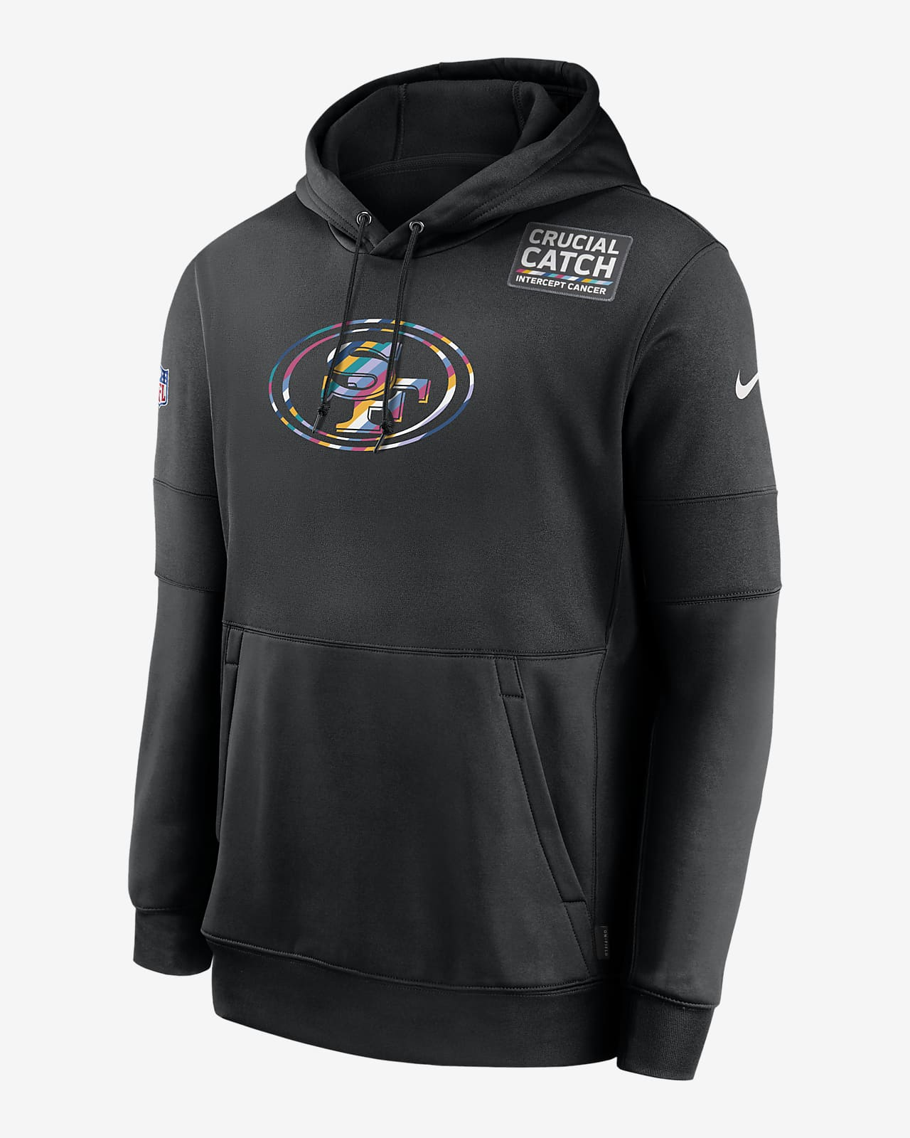 Nike Therma Crucial Catch (NFL 49ers) Men's Hoodie