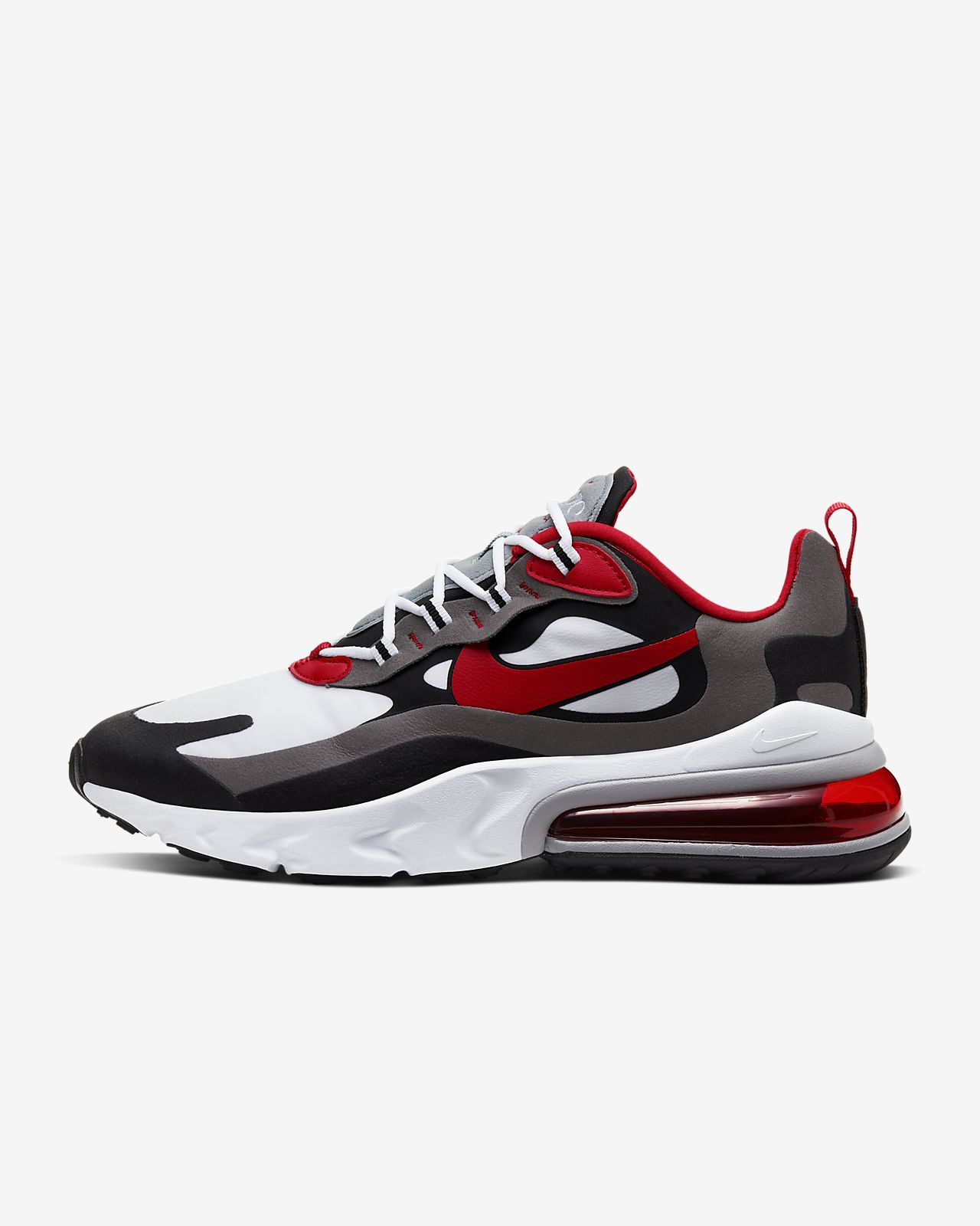 air max 270 react black and red