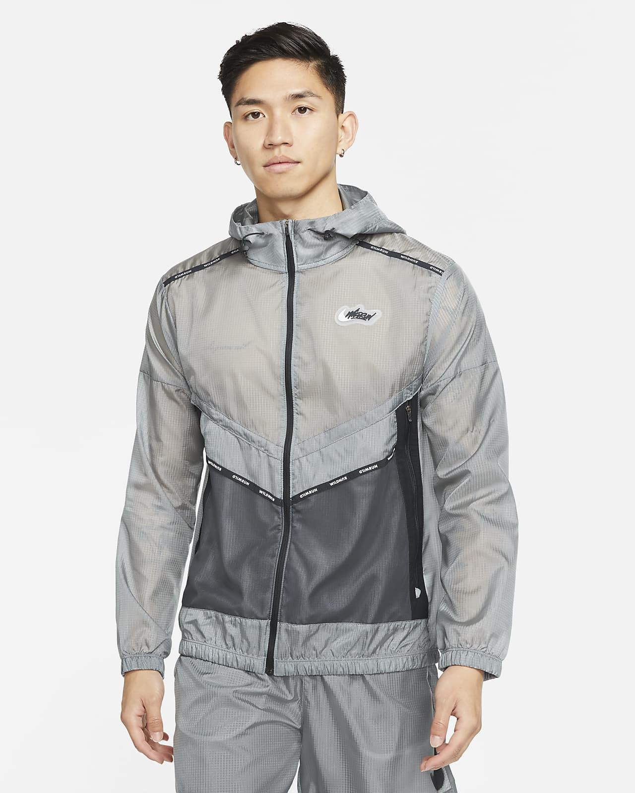 ナイキ レペル ワイルド ラン ウィンドランナー メンズ グラフィック ランニングジャケット