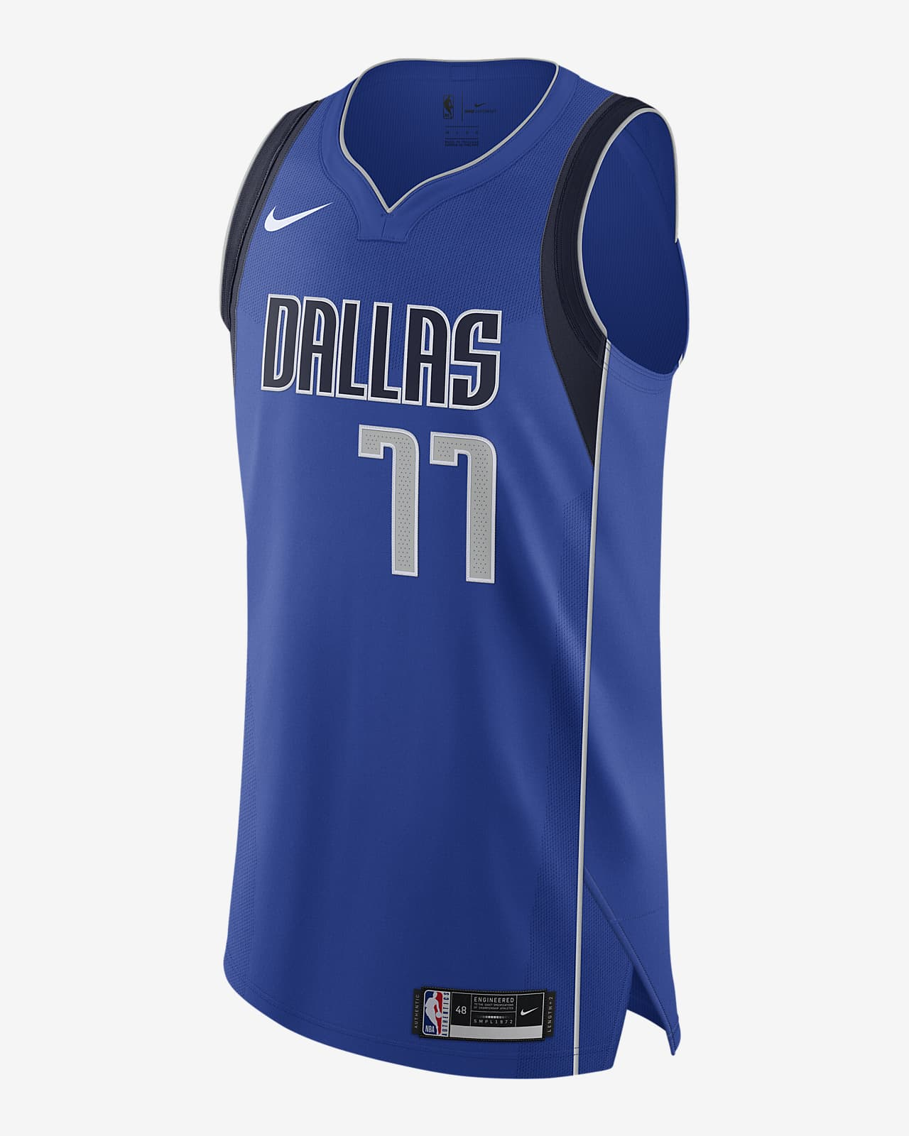 Luka Doncic Mavericks Icon Edition 2020 Nike NBA Authentic Jersey